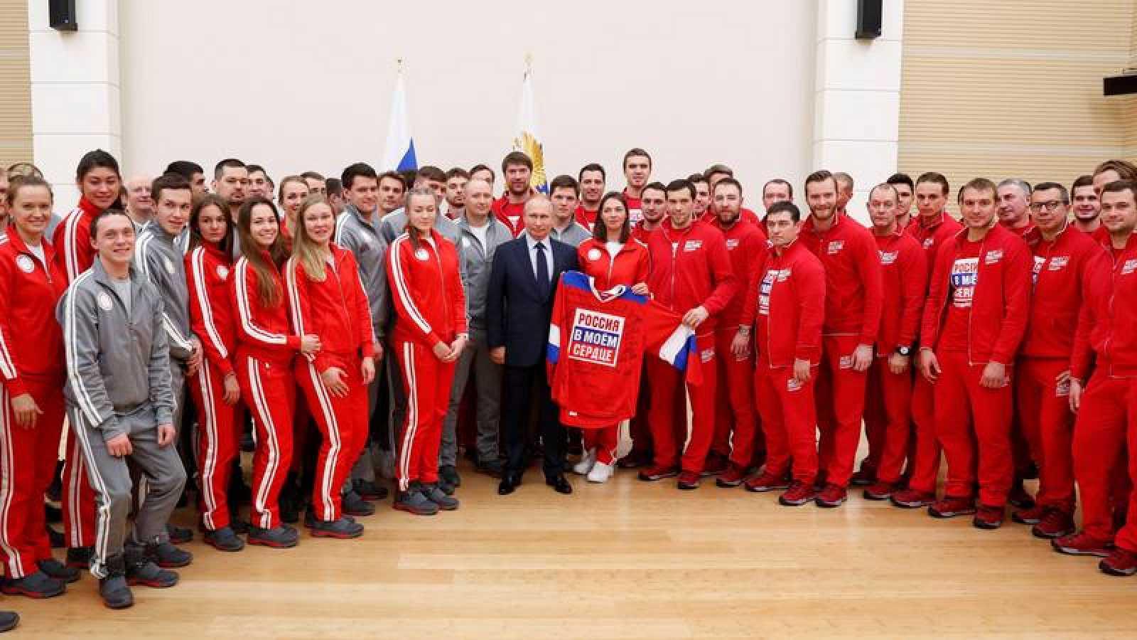 Rusia participará en la ceremonia de apertura con unos 70 deportistas