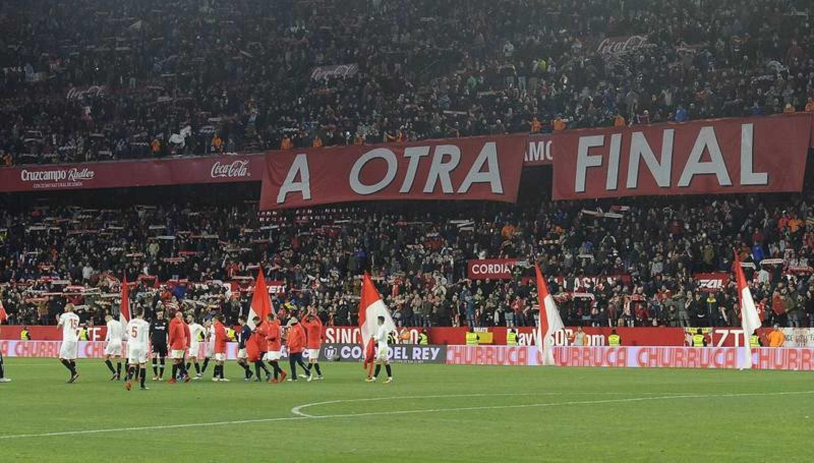 El Sevilla, a otra final