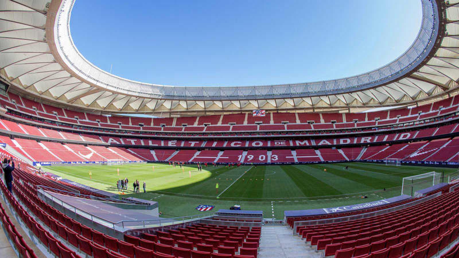 El estadio Wanda Metropolinato, favorito para acoger la final de Copa.