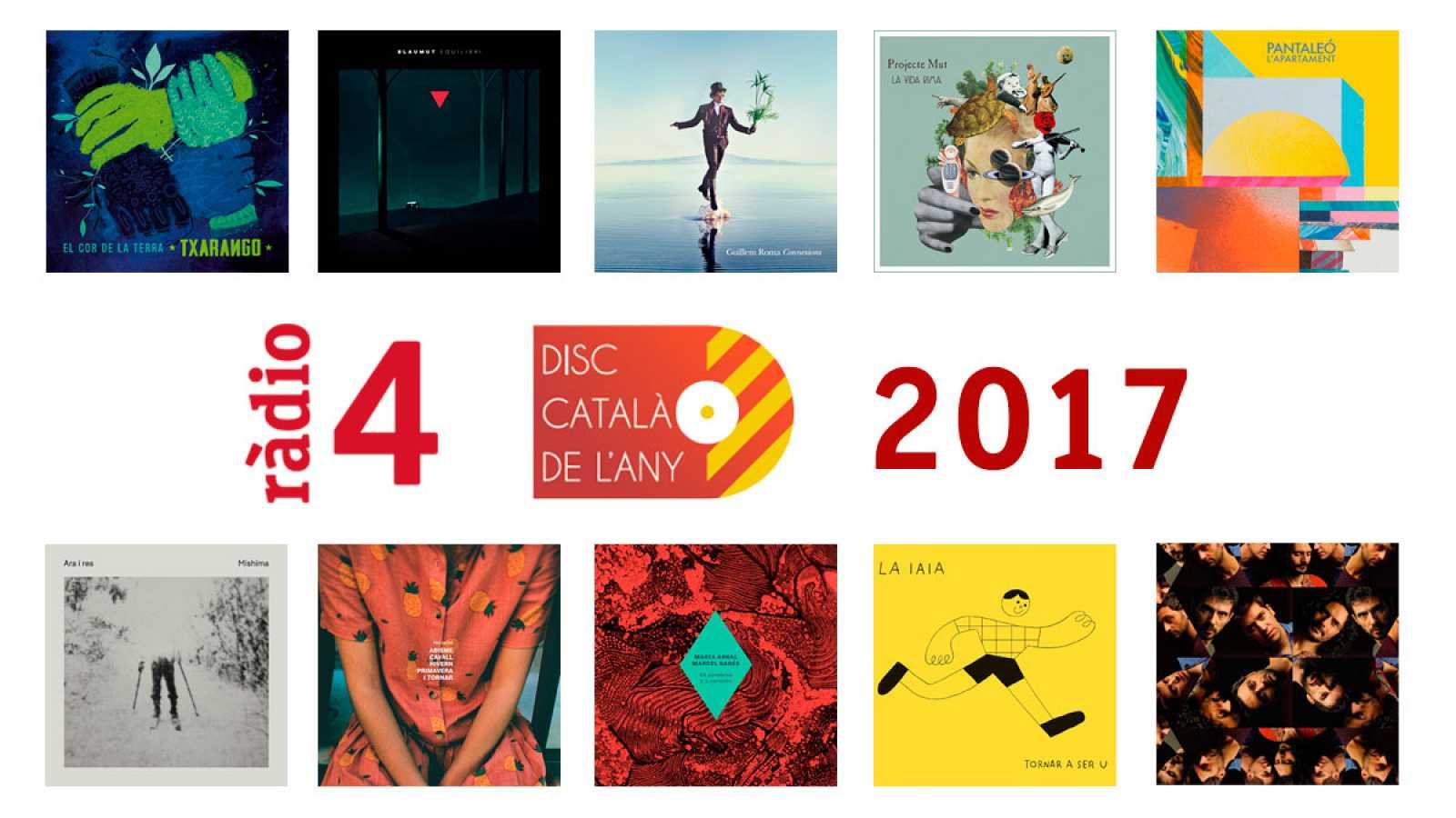 Vota el Disc Català de l'Any 2017