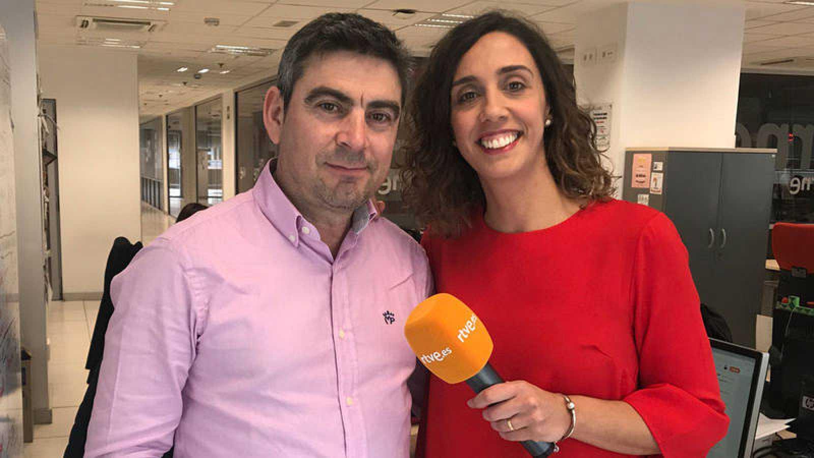 El Ciudadano García y Raquel Martín, de RTVE.es.