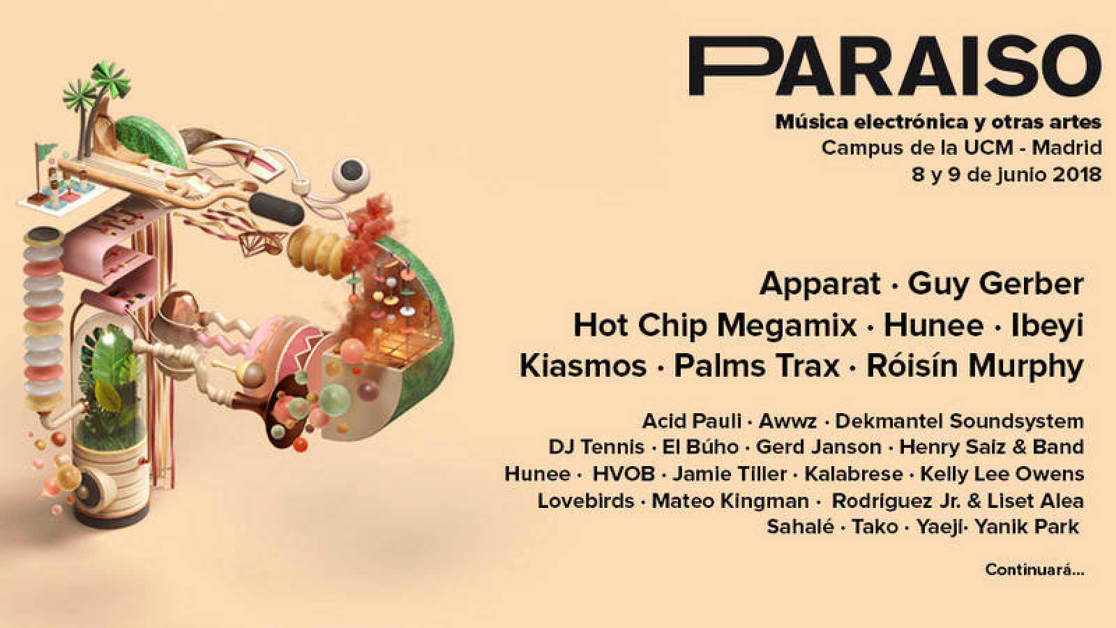 paraiso festival madrid