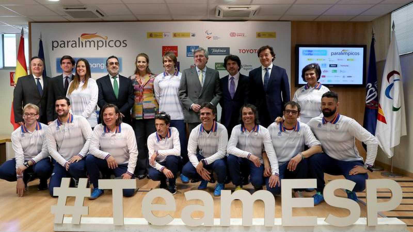 Despedida del Equipo Paralímpico Español