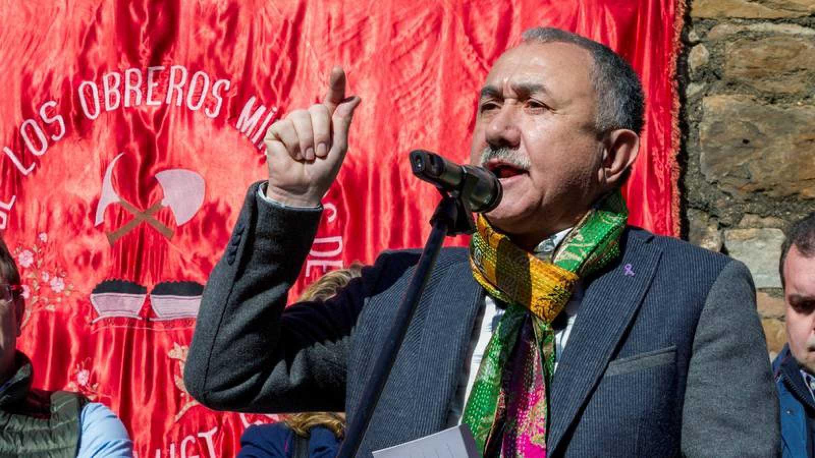 El secretario general de UGT Pepe Álvarez
