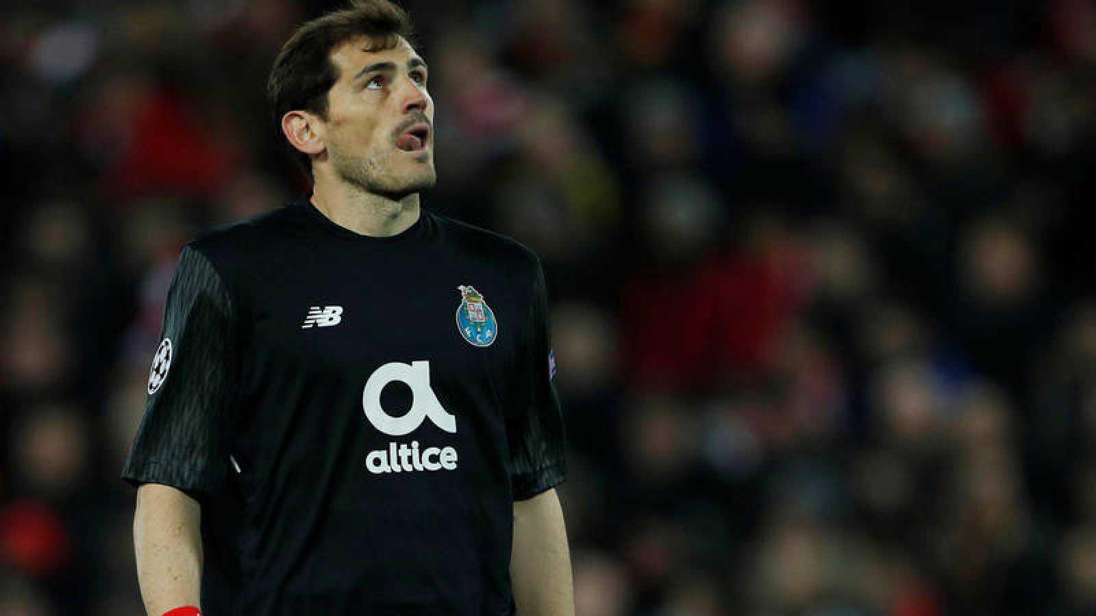 El meta español Iker Casillas pudo haber jugado su último partido en Champions.