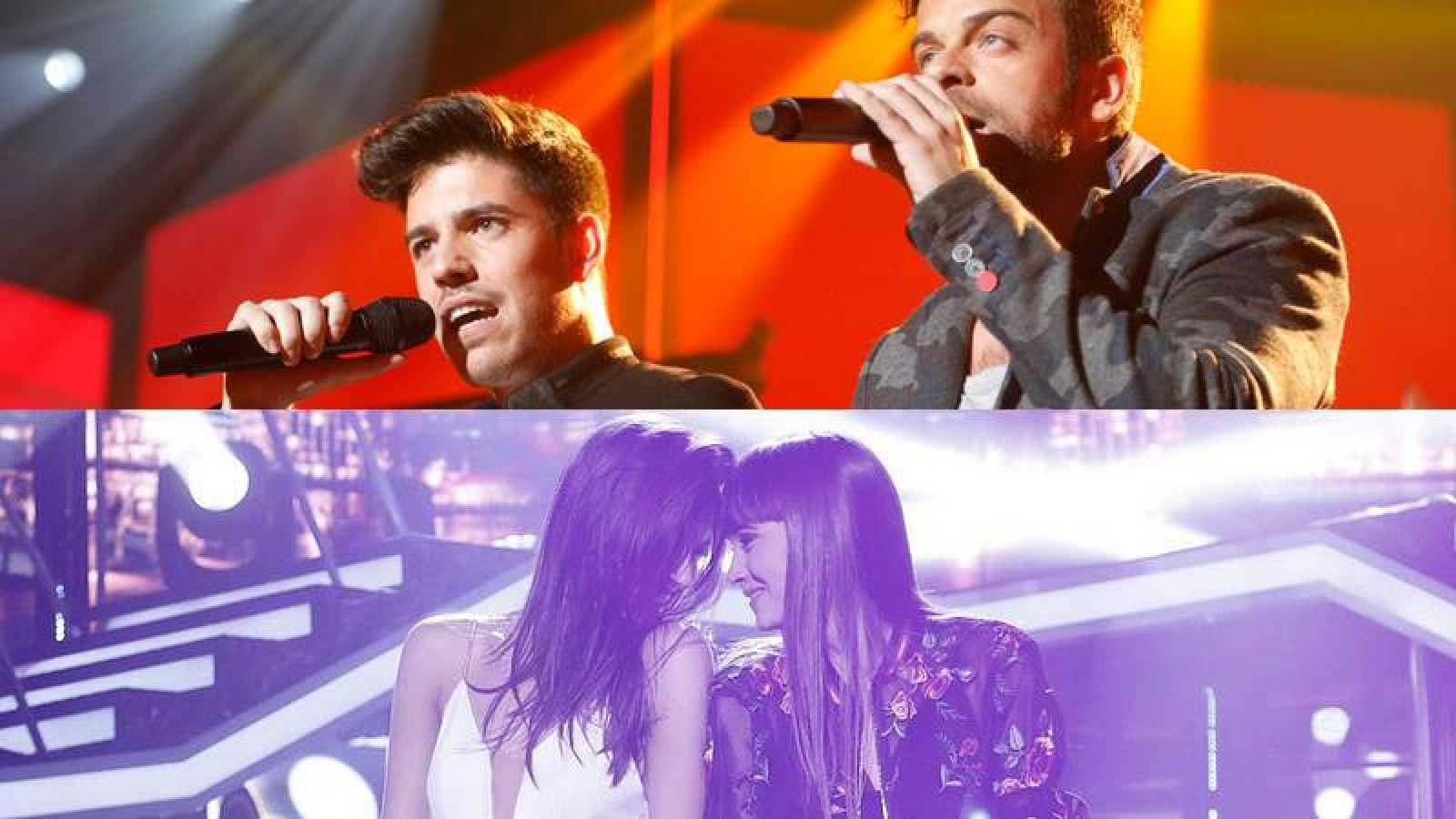 Aitana y Ana Guerra estarán en OTVisión con Ricky y Roi