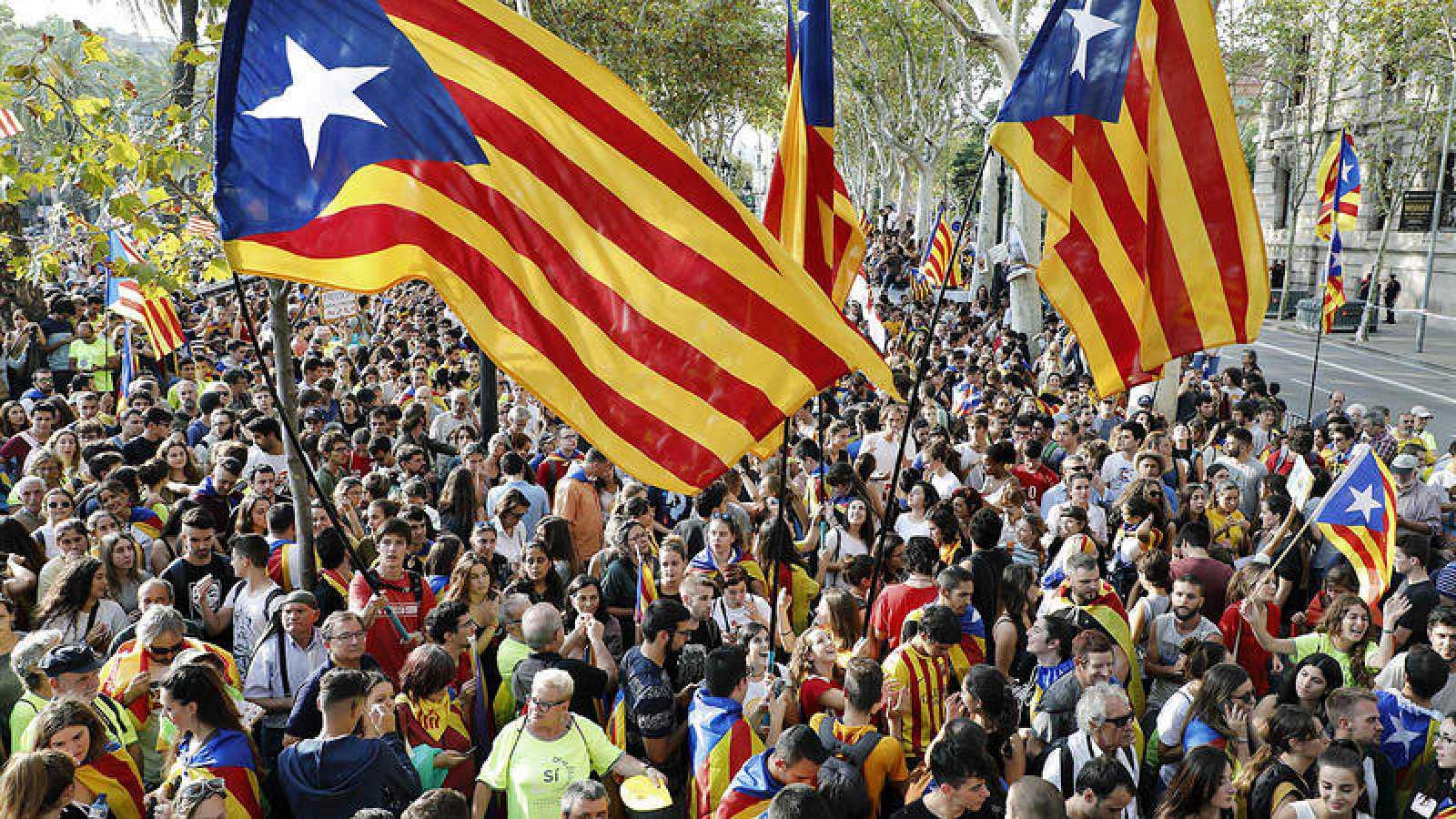 La independencia de Cataluña es la quinta preocupación para los españoles, según el CIS