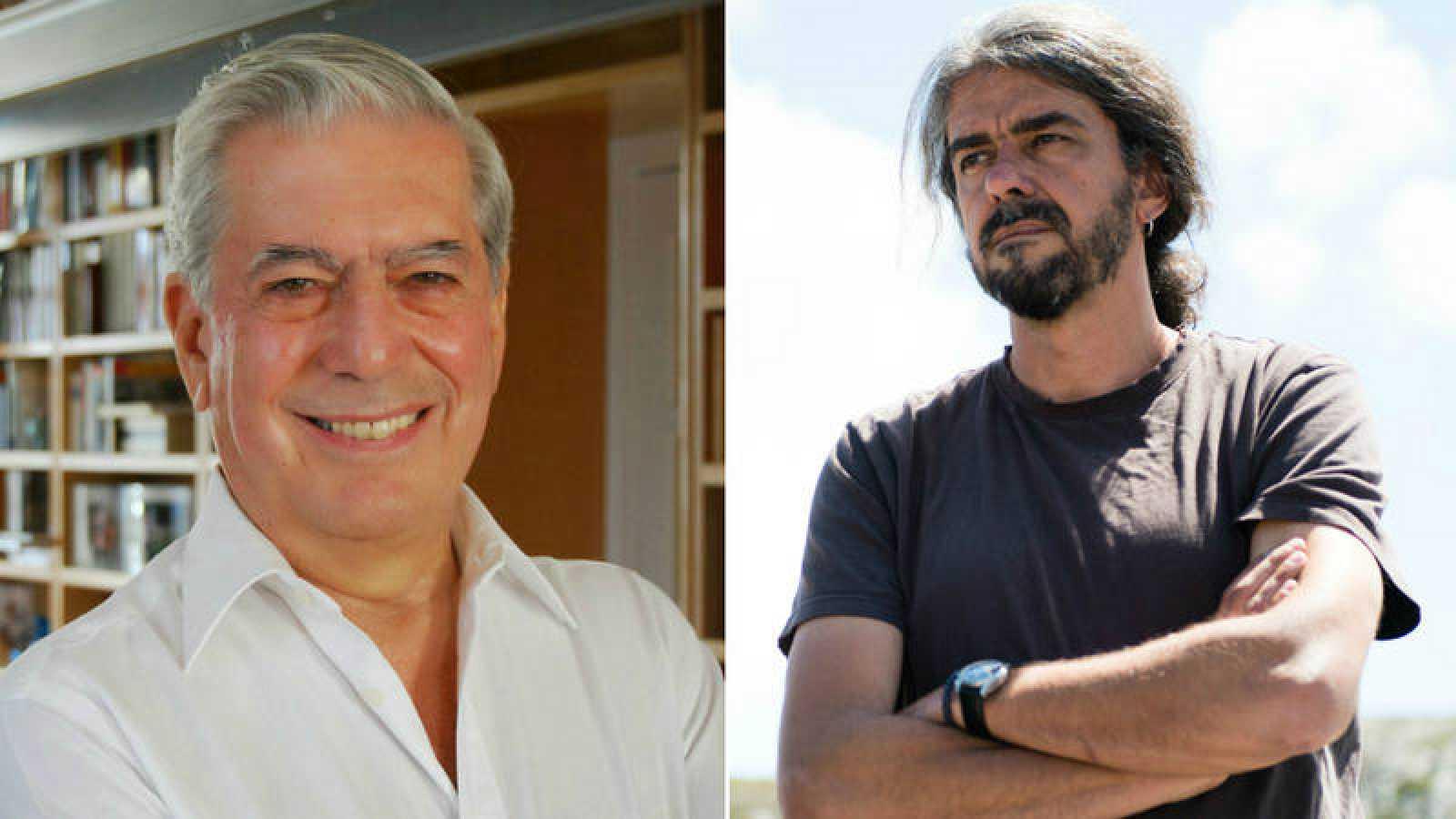 Mario Vargas Llosa y Fernando León de Aranoa
