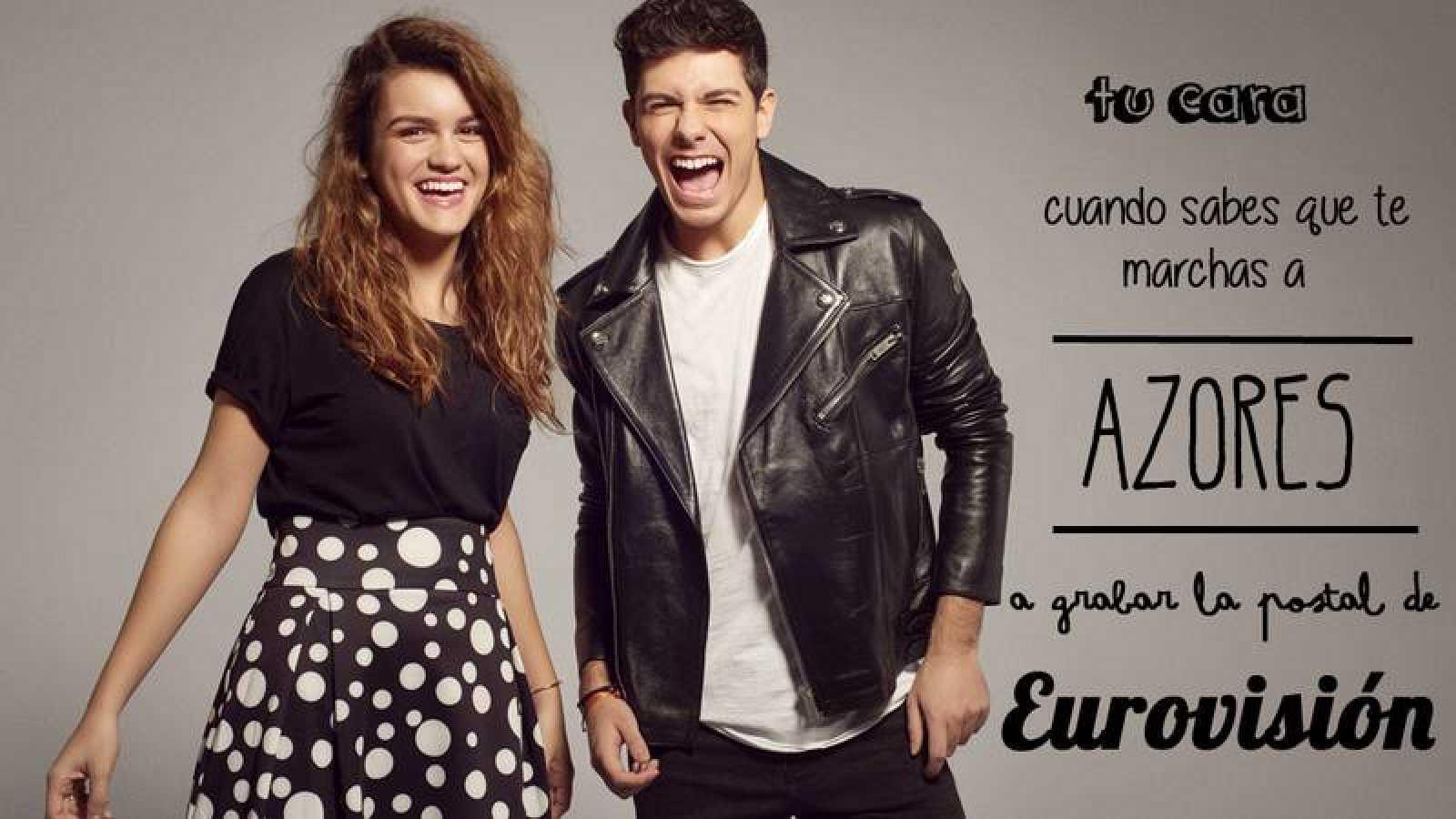 OTVisión viaja a las a las Azores con Alfred y Amaia