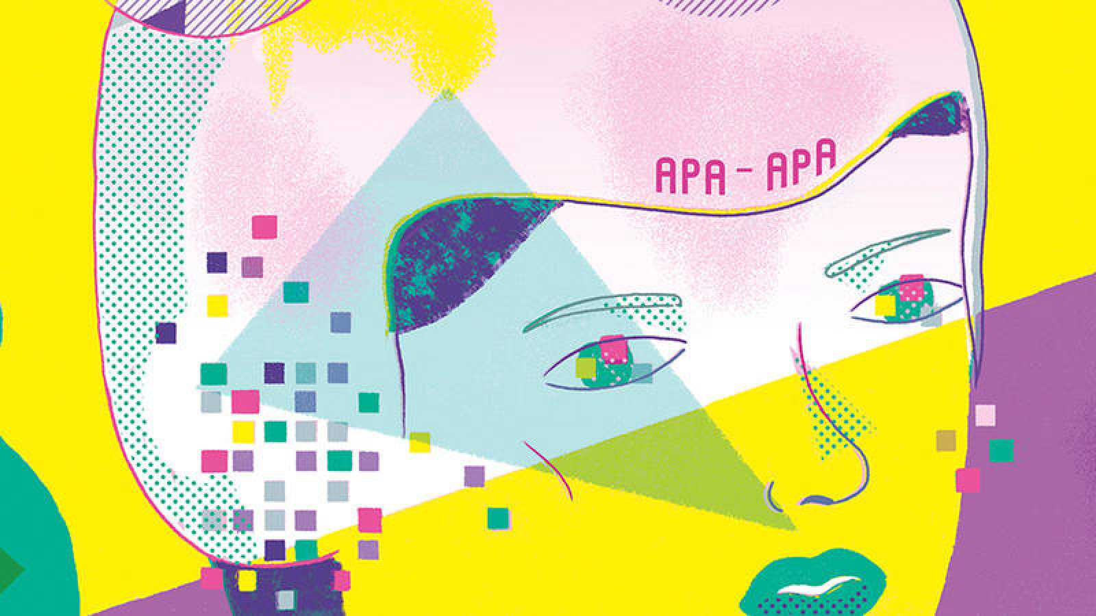 Fragmento de la portada de 'Pulse enter para continuar', de Ana Galvañ