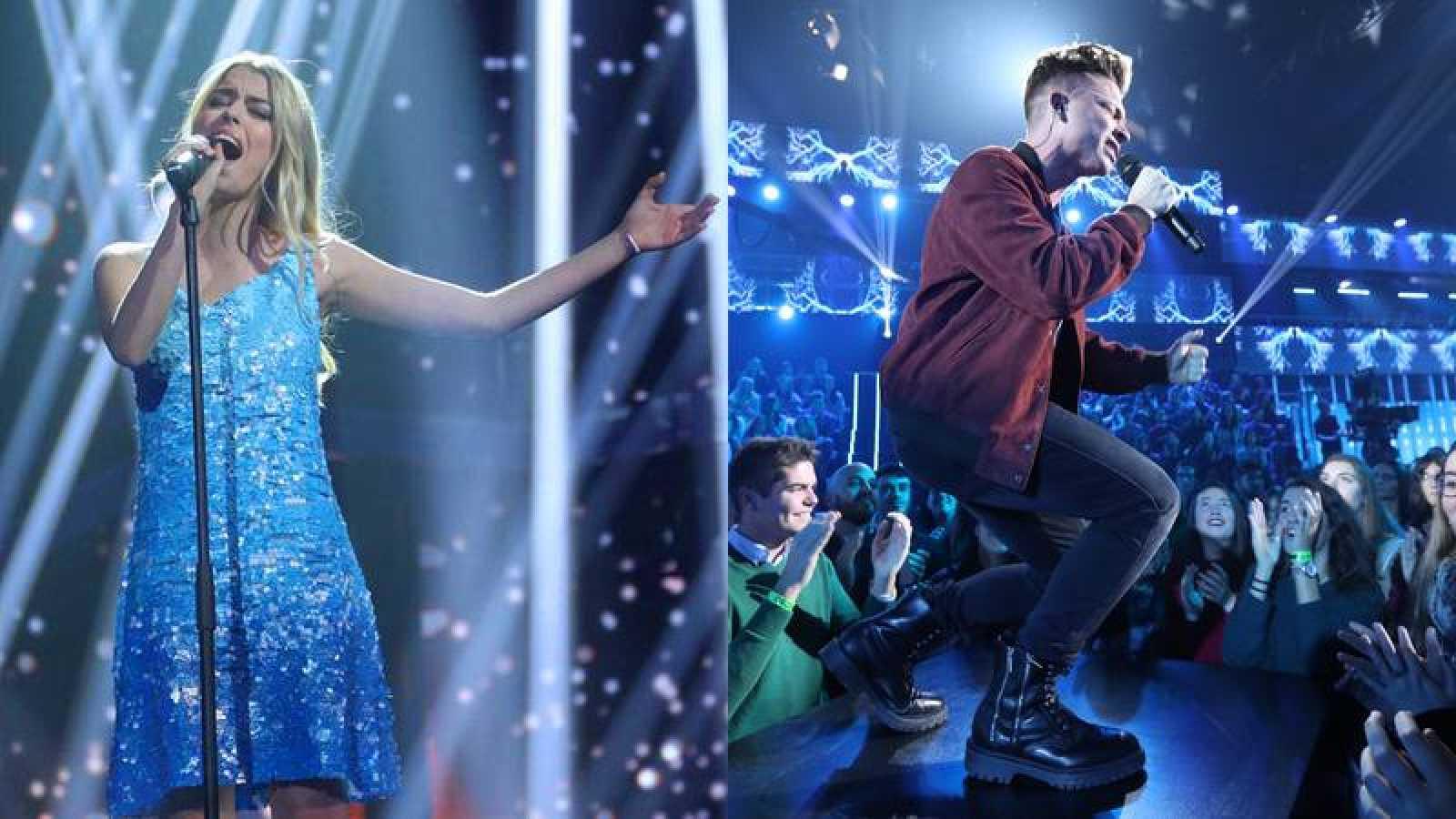 Raoul y Nerea apoyan a Amaia y Alfred en OTVisión