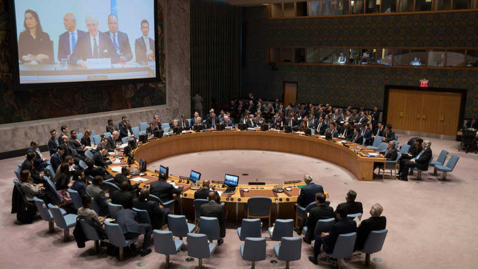 El Consejo de Seguridad de la ONU reunido en Nueva York para debatir sobre Siria