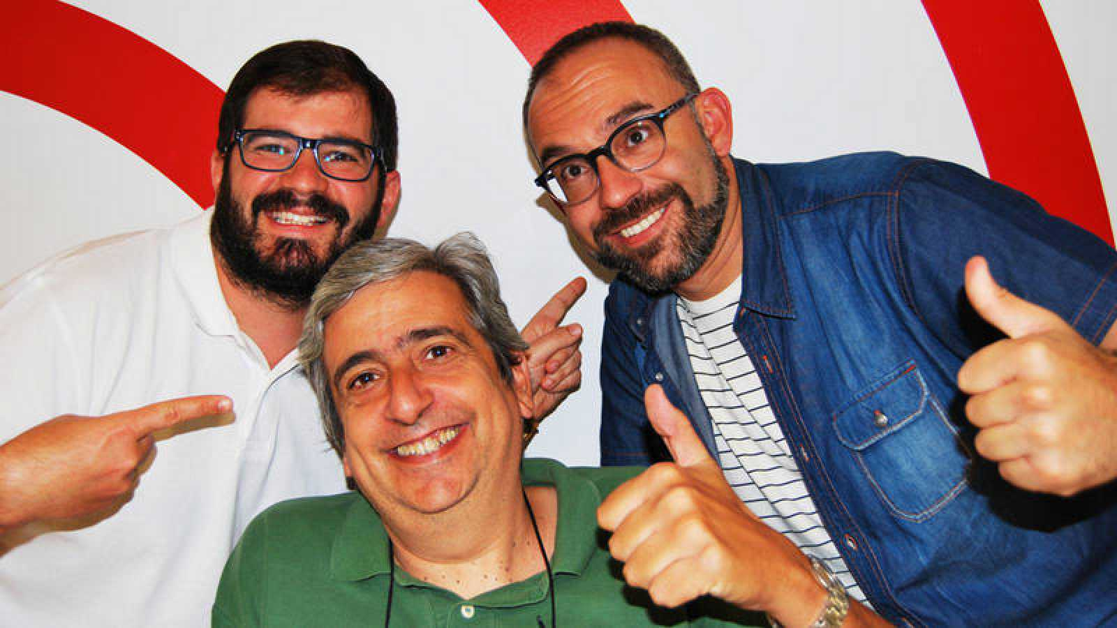 Jorge Duato, Emilio Arroyo y Manu Martínez