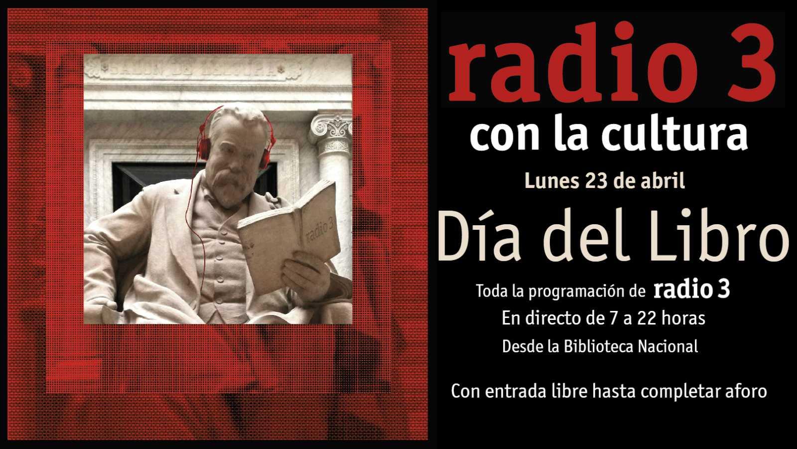 El 23 de abril trasladamos nuestra programación en directo a la Biblioteca Nacional
