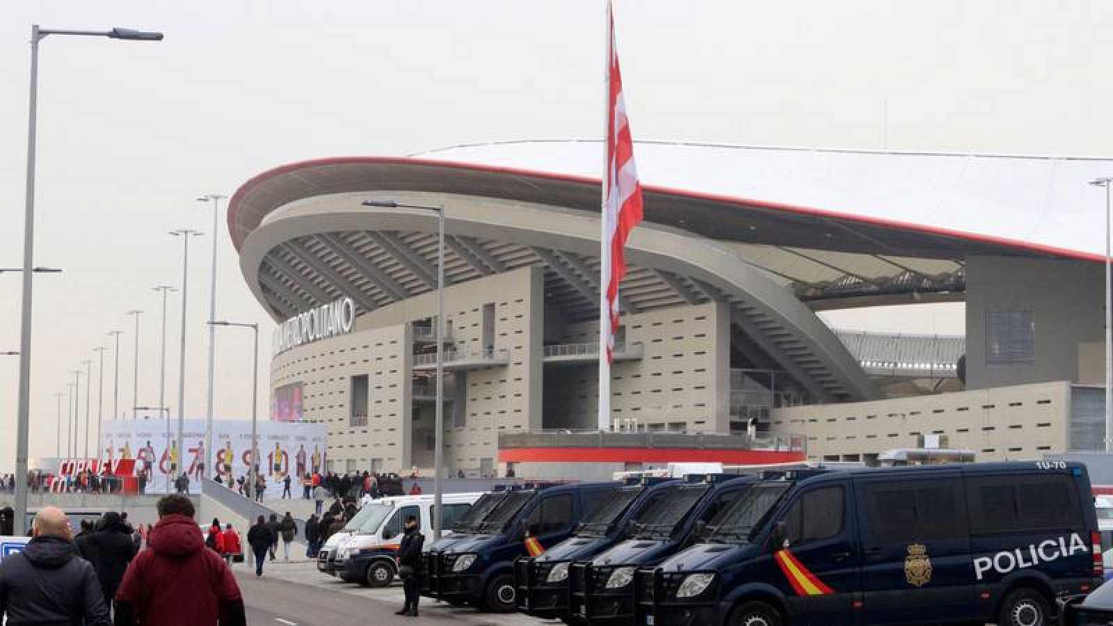 Unos 3.200 efectivos velarán por la seguridad en la final de la Copa del Rey