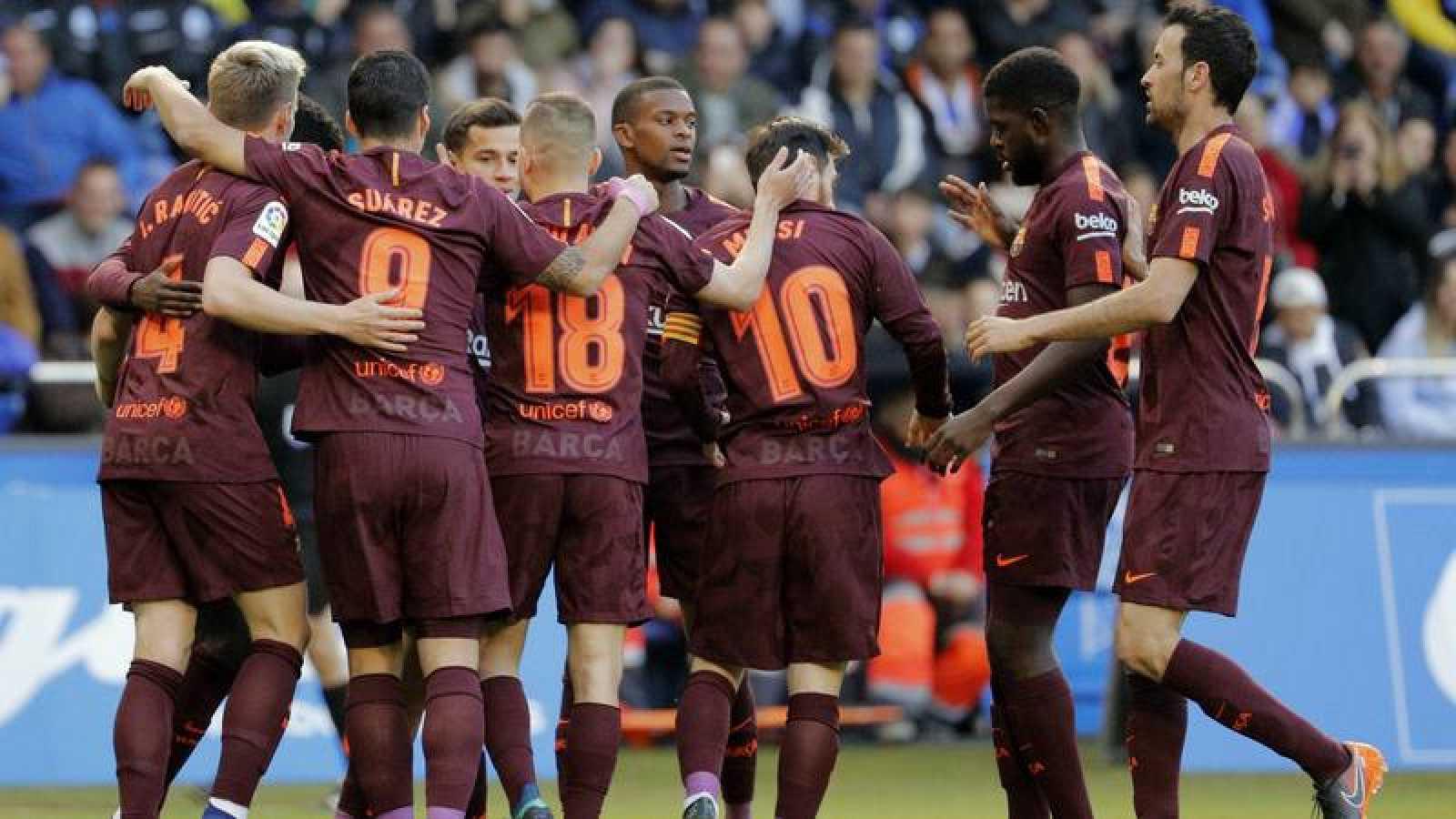 El Barça se proclama campeón de Liga tras empatar en Riazor