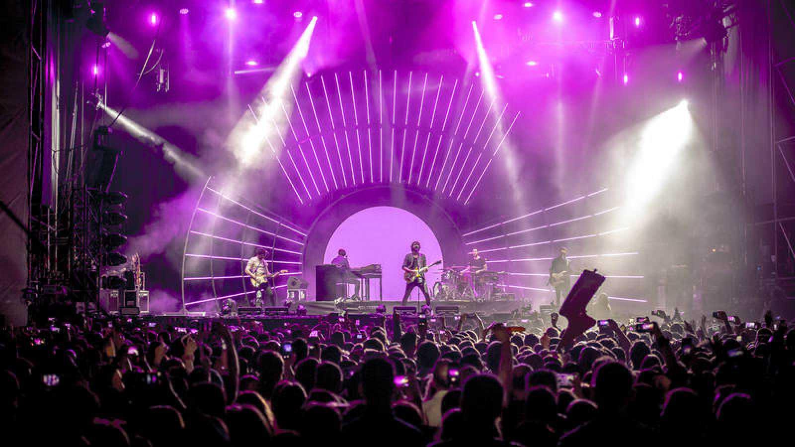 Izal arrancan su gira de festivales en el Warm Up Festival