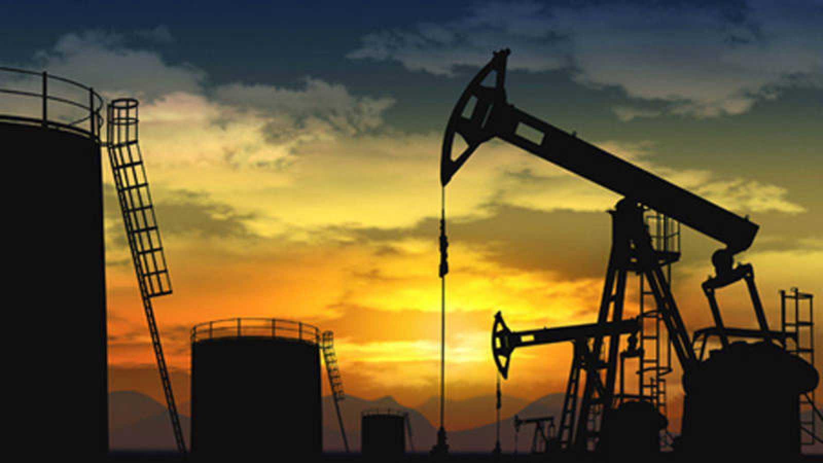 Pozo de extracción de petróleo