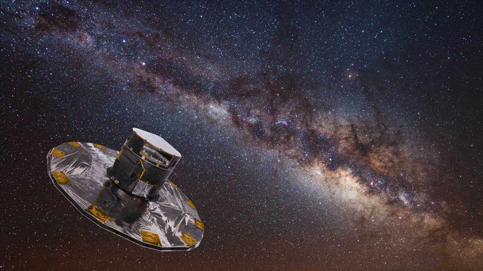 El principal objetivo del satélite Gaia es configurar el mapa tridimensional de nuestra galaxia más completo.