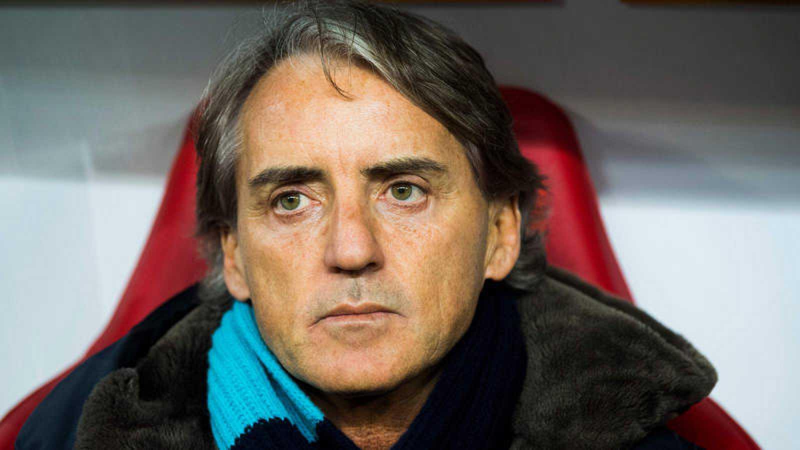 El técnico italiano Roberto Mancini, nuevo seleccionador de Italia.