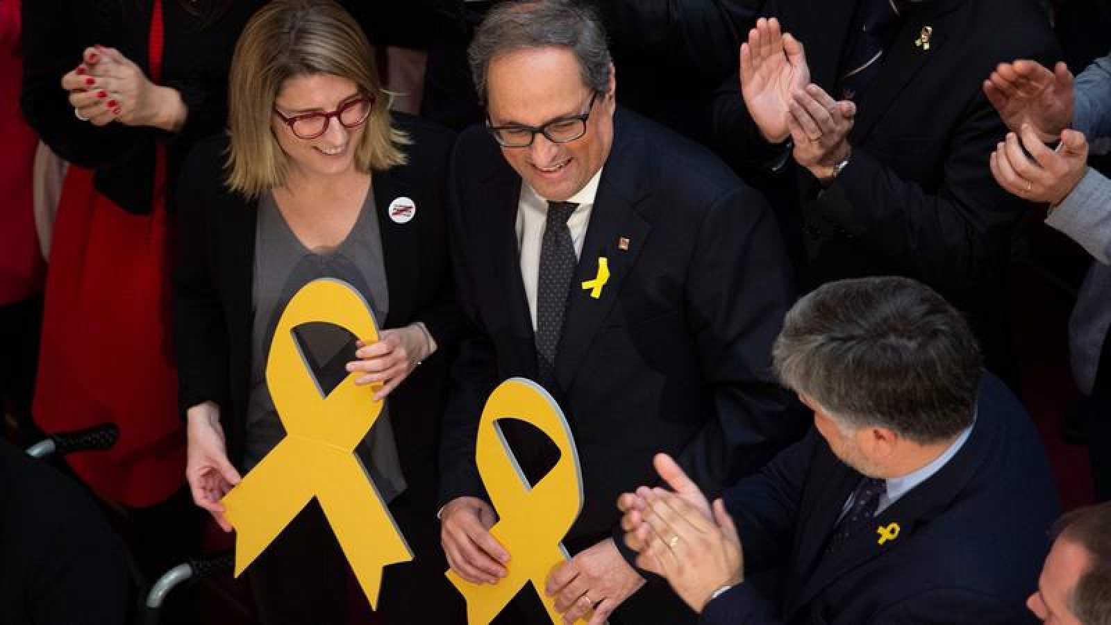 El nuevo president electo de la Generalitat, Quim Torra