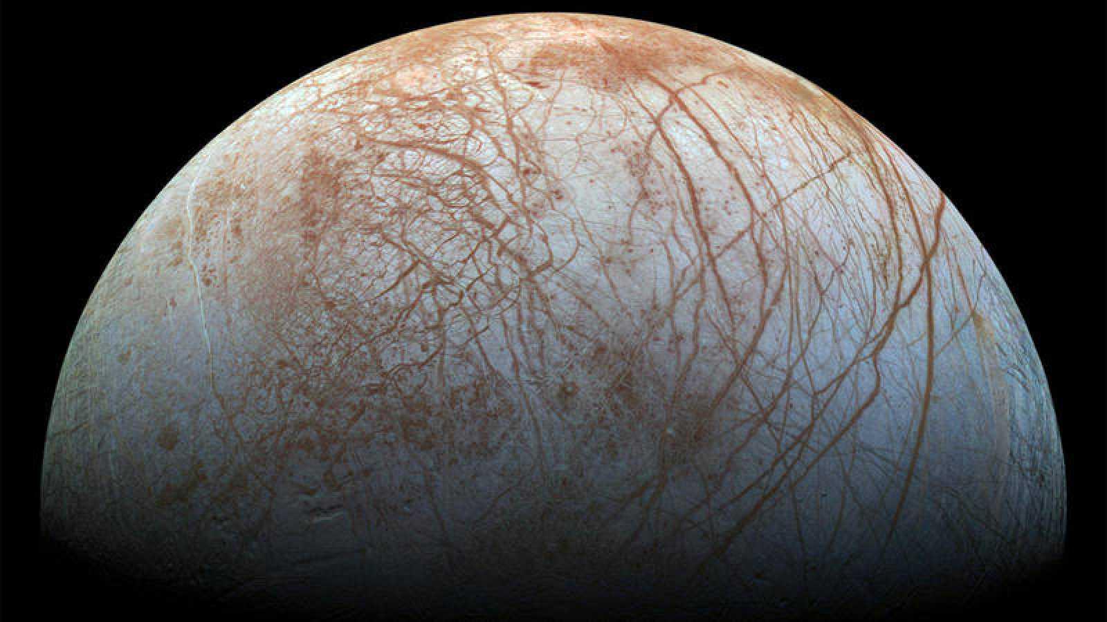 Europa Una De Las Lunas De Júpiter Tendría Los Ingredientes Suficientes Para Sustentar Vida Rtve Es