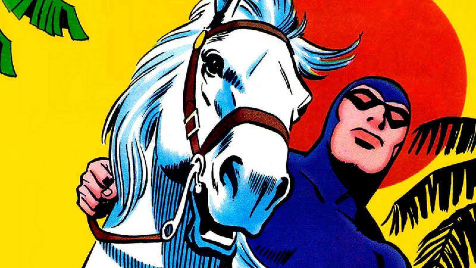 The Phantom dibujado por Sy Barry