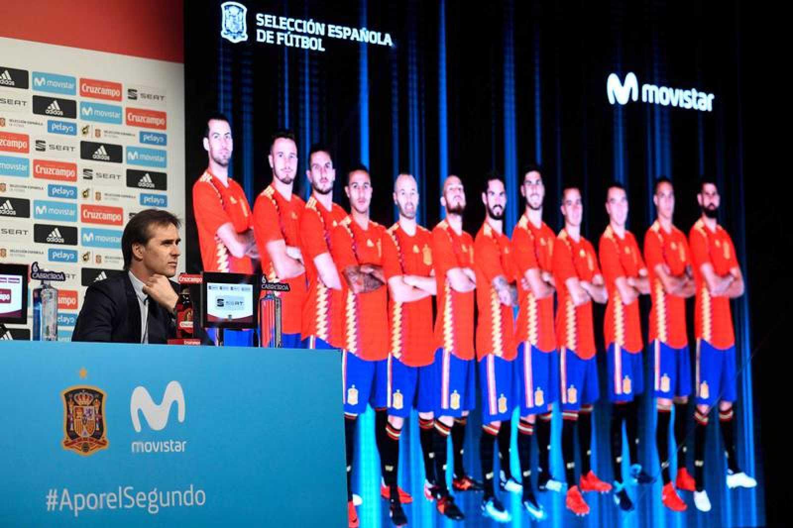 Julen Lopetegui ya ha dado la lista de los 23 futbolistas que lucharán por el Mundial en Rusia.