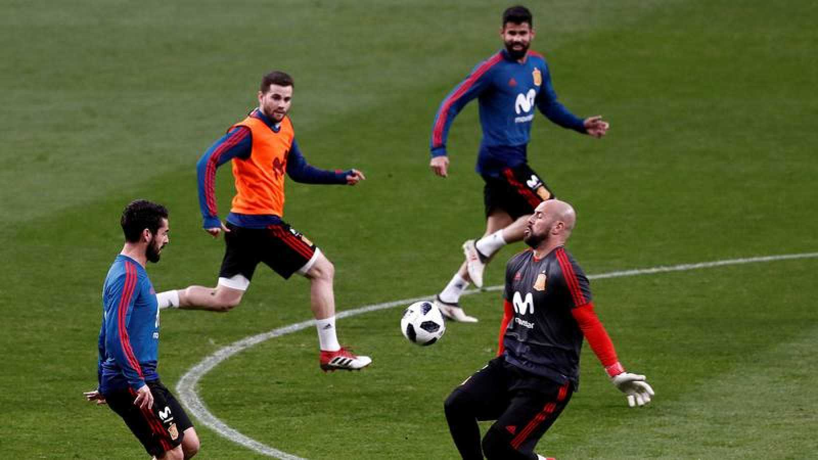 España inicia este lunes su concentración para el Mundial de Rusia