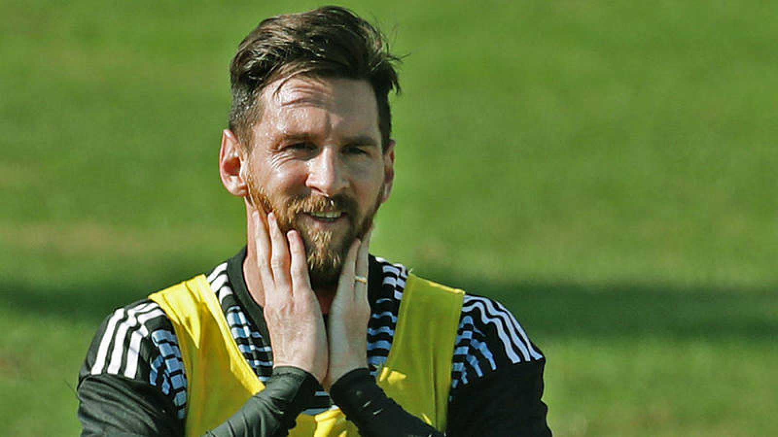 """Messi: """"Argentina no va como candidata, hay mejores selecciones"""""""