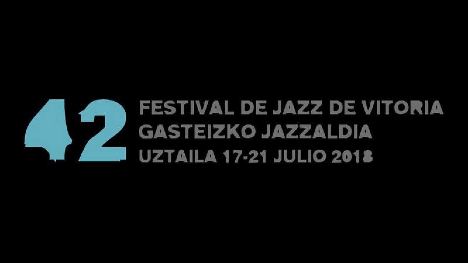 Cartel de la 42ª edición del Festival de Jazz de Vitoria-Gasteiz