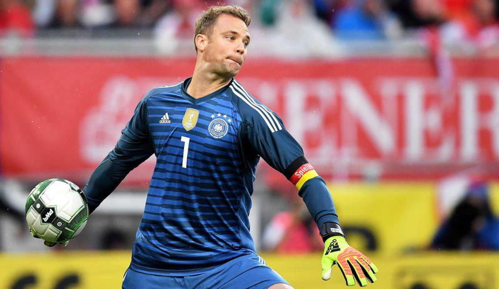 Neuer estará en el Mundial con Alemania