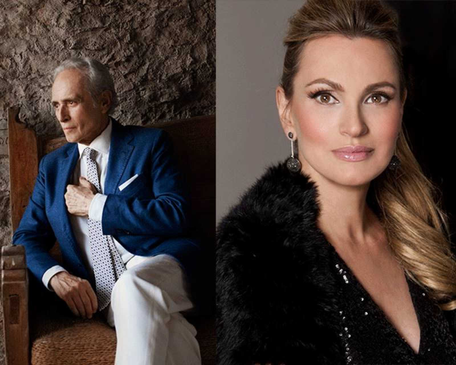 La cadena ofrecerá en directo el concierto de la soprano Ainhoa Arteta y el tenor Josep Carreras
