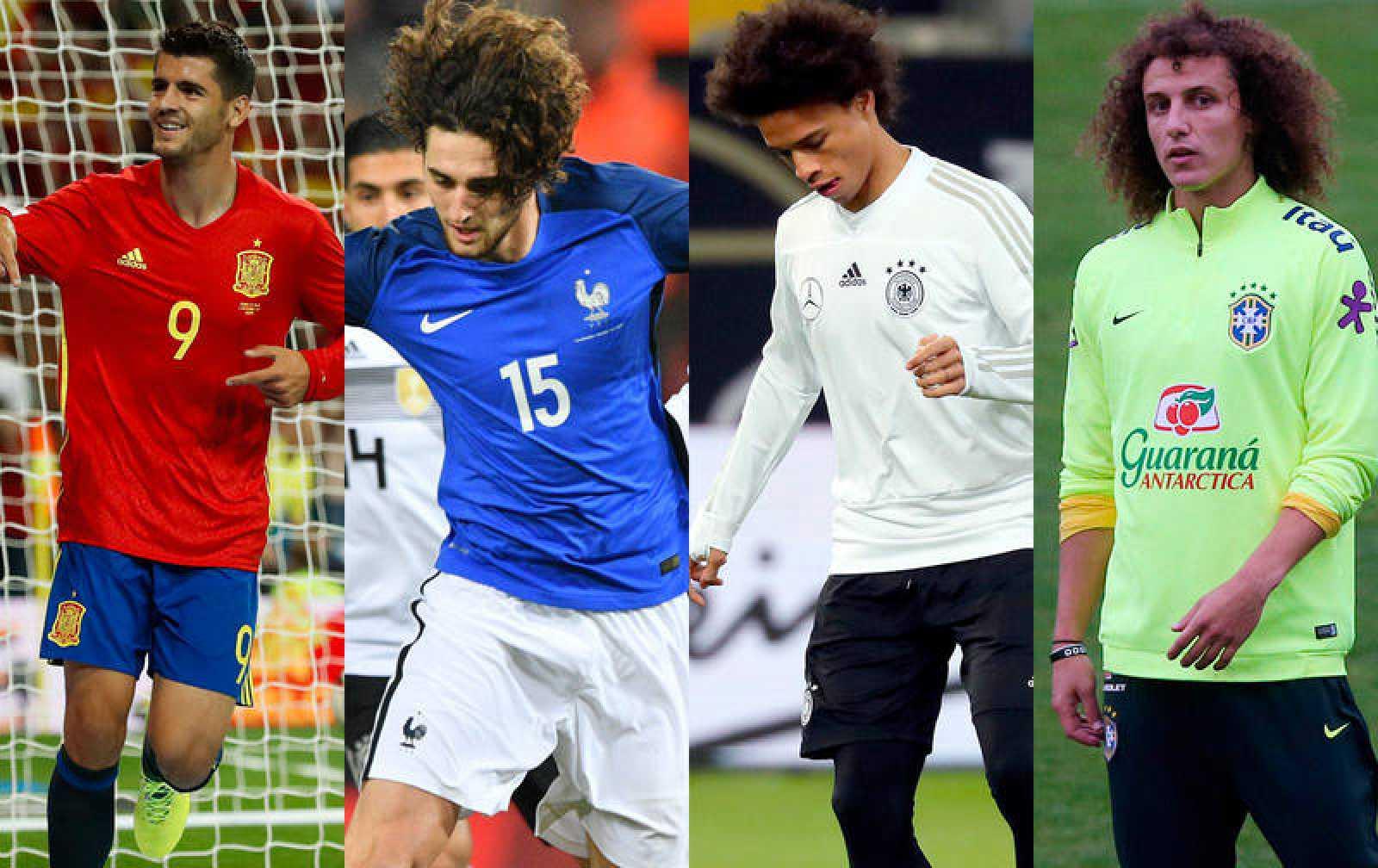 Morata, Rabiot, Sané o David Luiz son un buen ejemplo de ausencias sonadas.