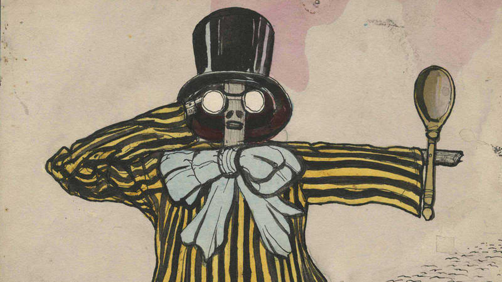 'Futurismo en un pueblo' (1914). Ilin (Nal)