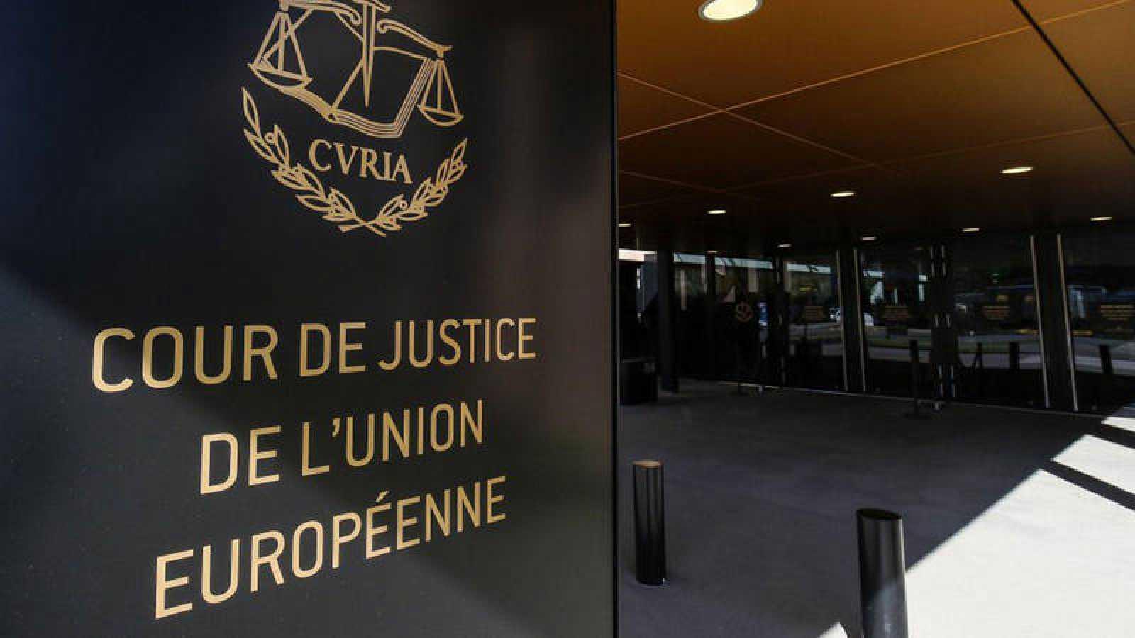 Entrada del Tribunal de Justicia de la Unión Europea en Luxemburgo