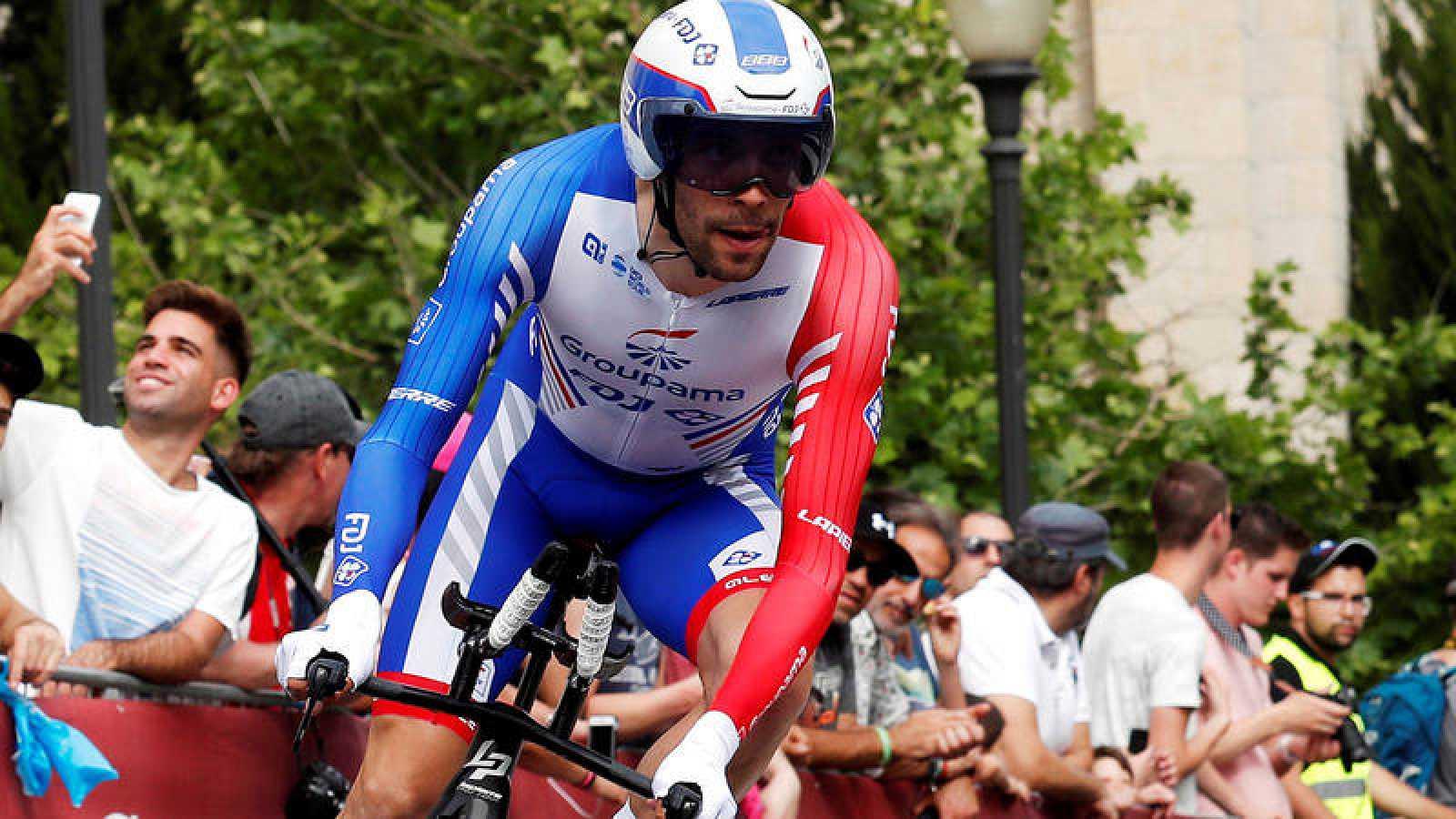 Thibaut Pinot, en el pasado Giro de Italia.