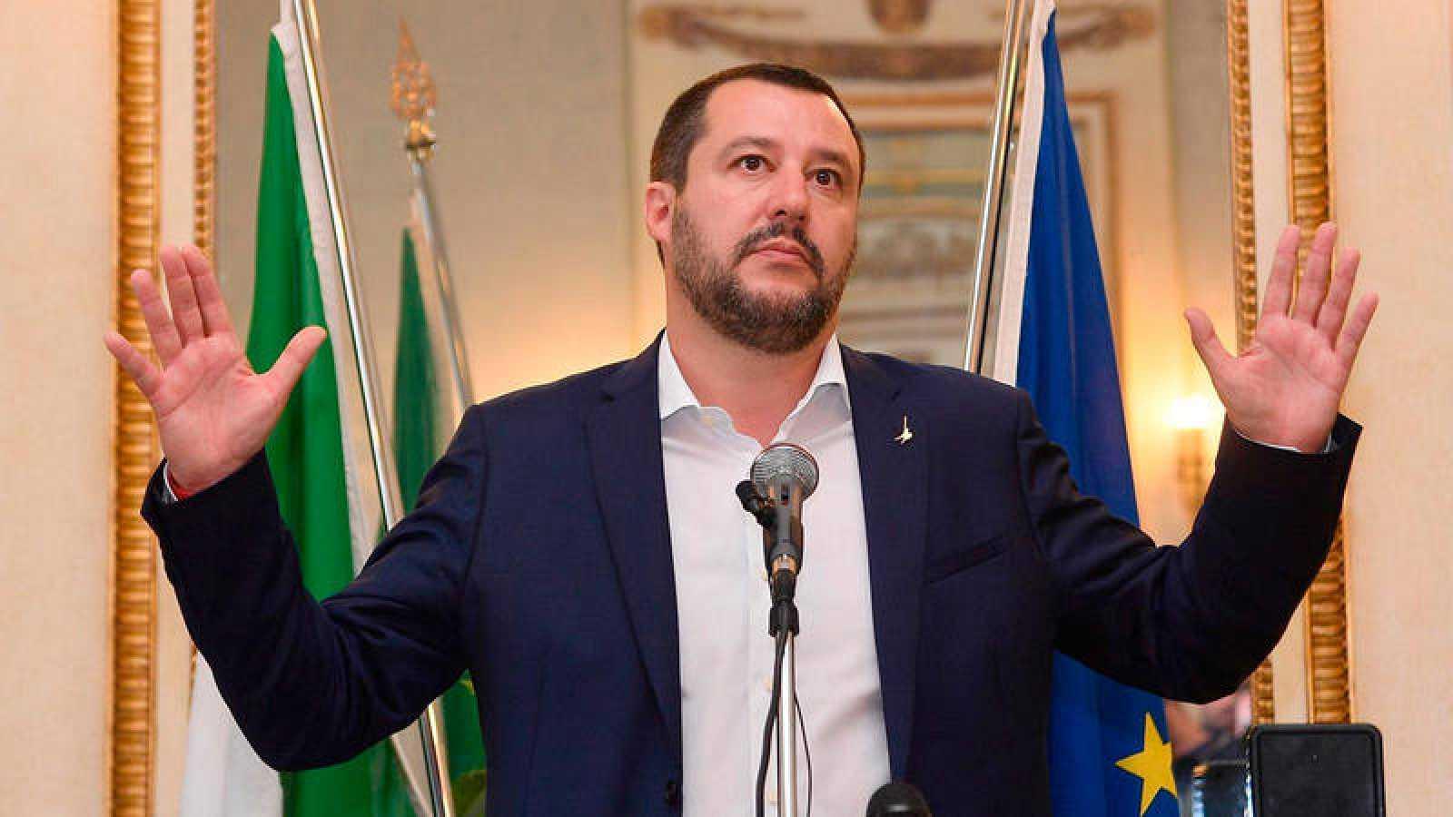 El ministro italiano de Interior, Matteo Salvini