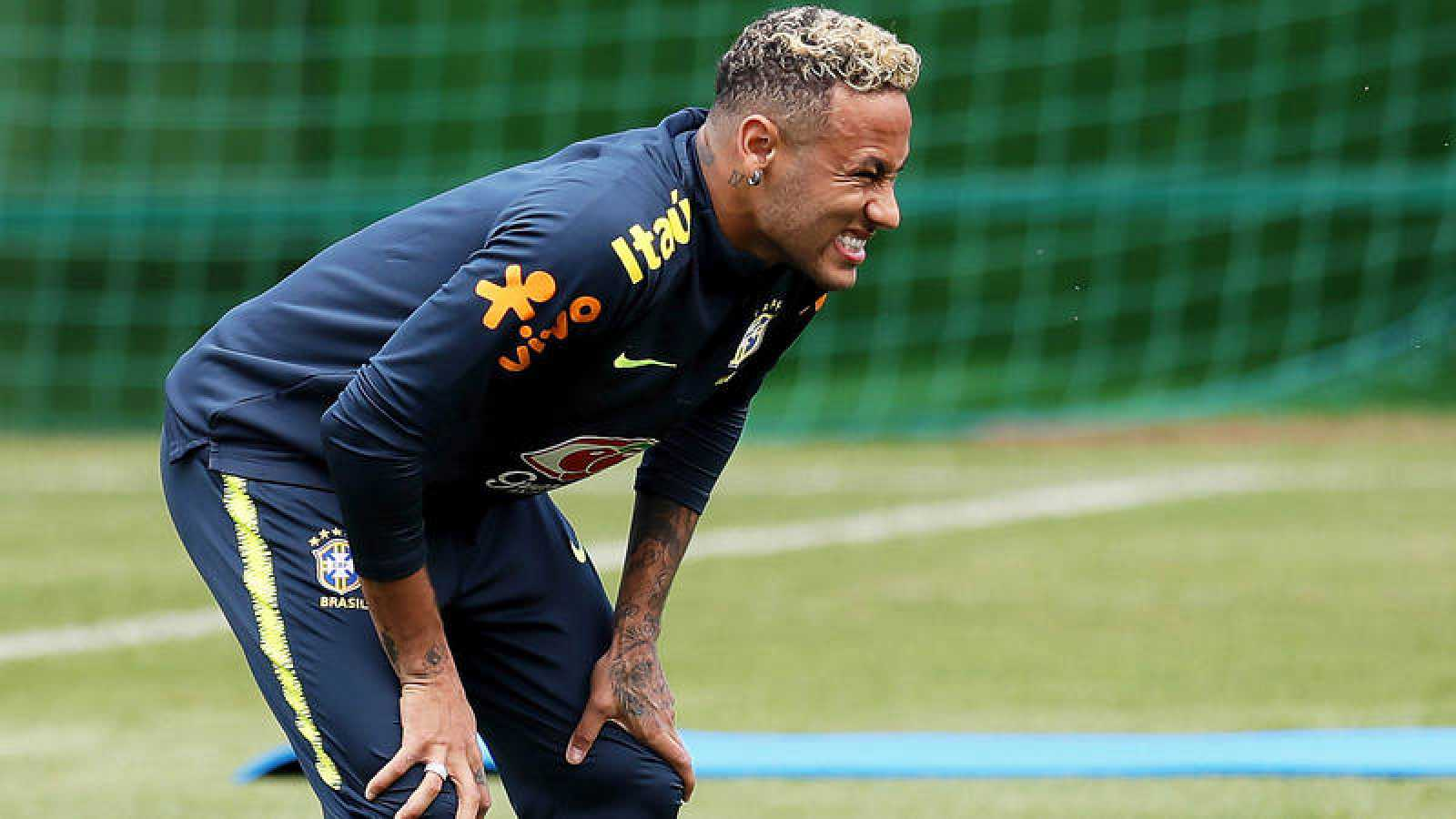 Neymar entrenamiento