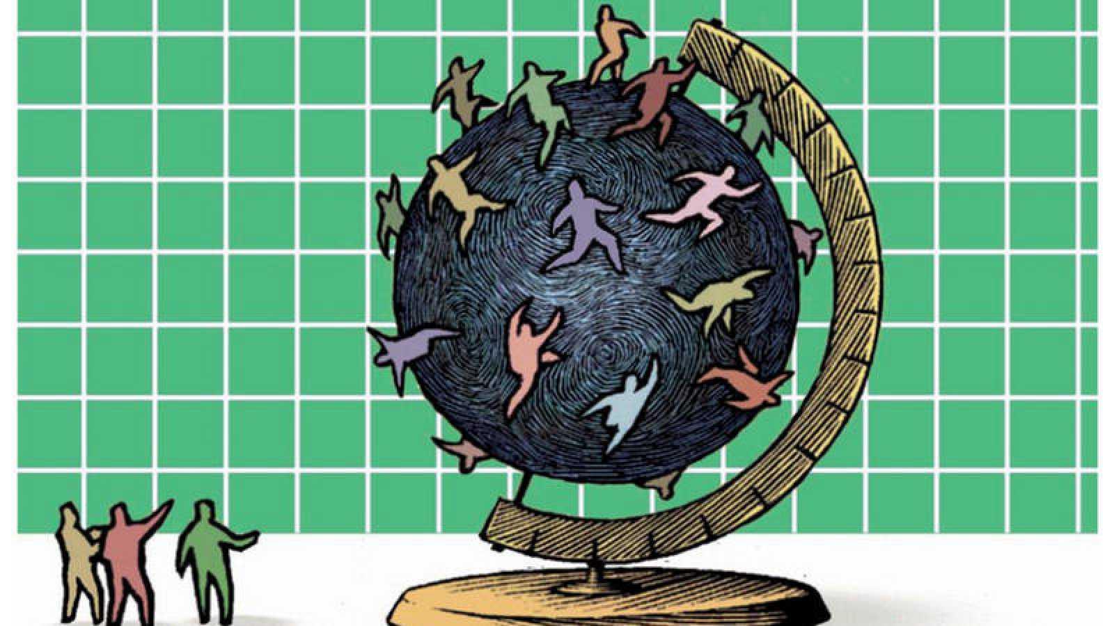 Imagen de la portada del informe de la OCDE sobre migraciones 2018
