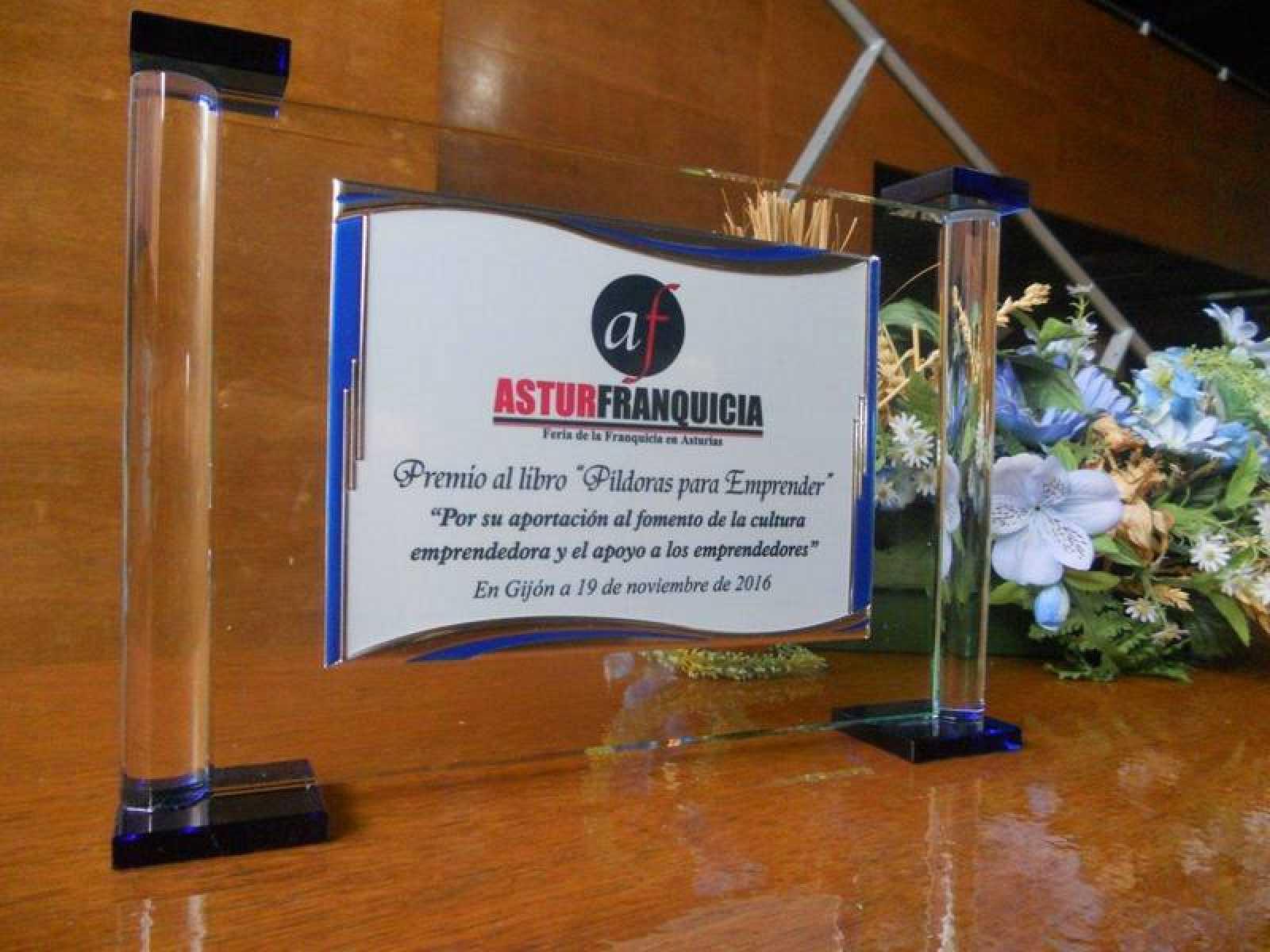 Premio en la Feria de la franquicia de Asturias