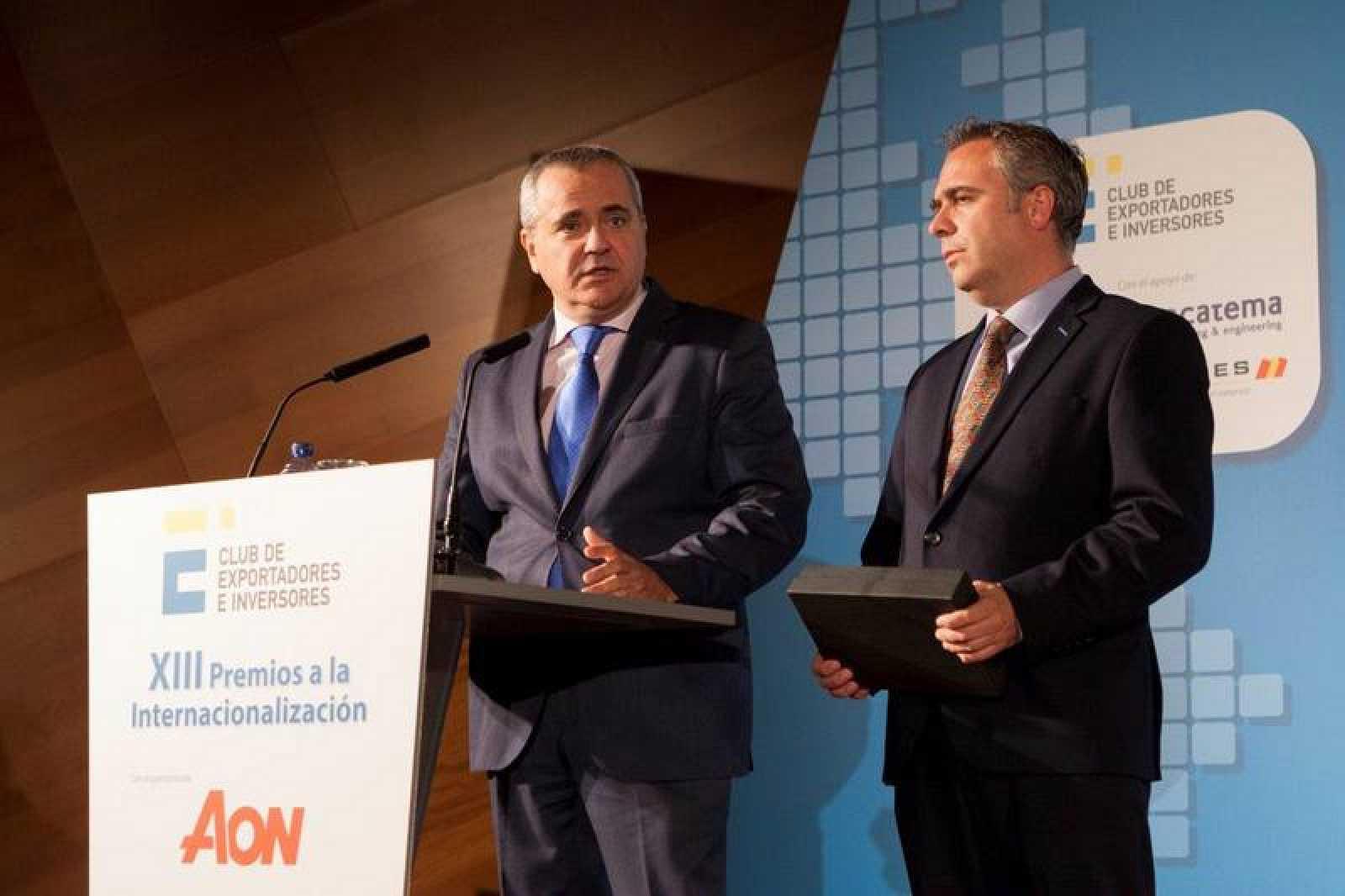 Premio a la Internacionalización del Club de Exportadores e Inversores