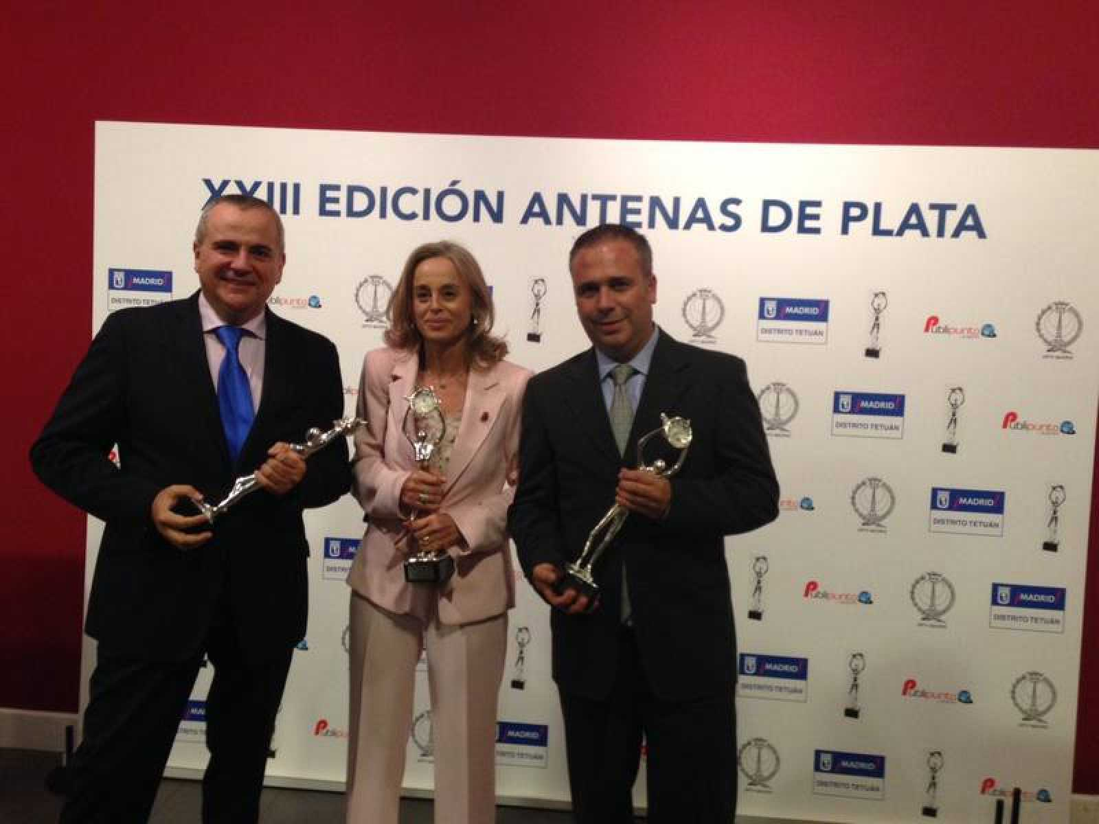 Premio 'Antena de Plata' para Juanma Romero