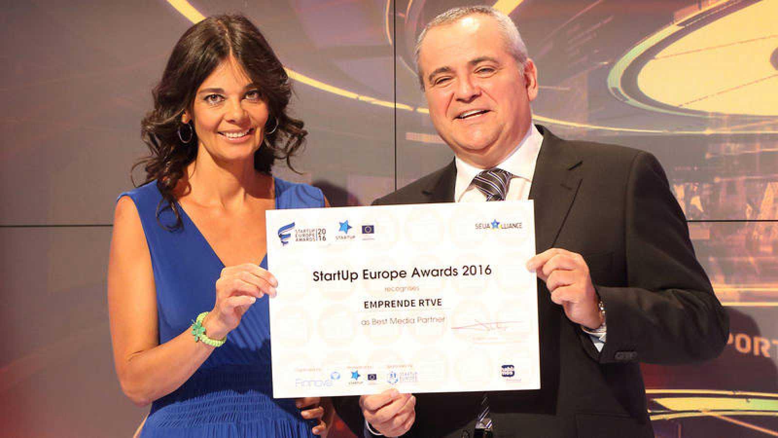 Premio StartUp Europe Awards