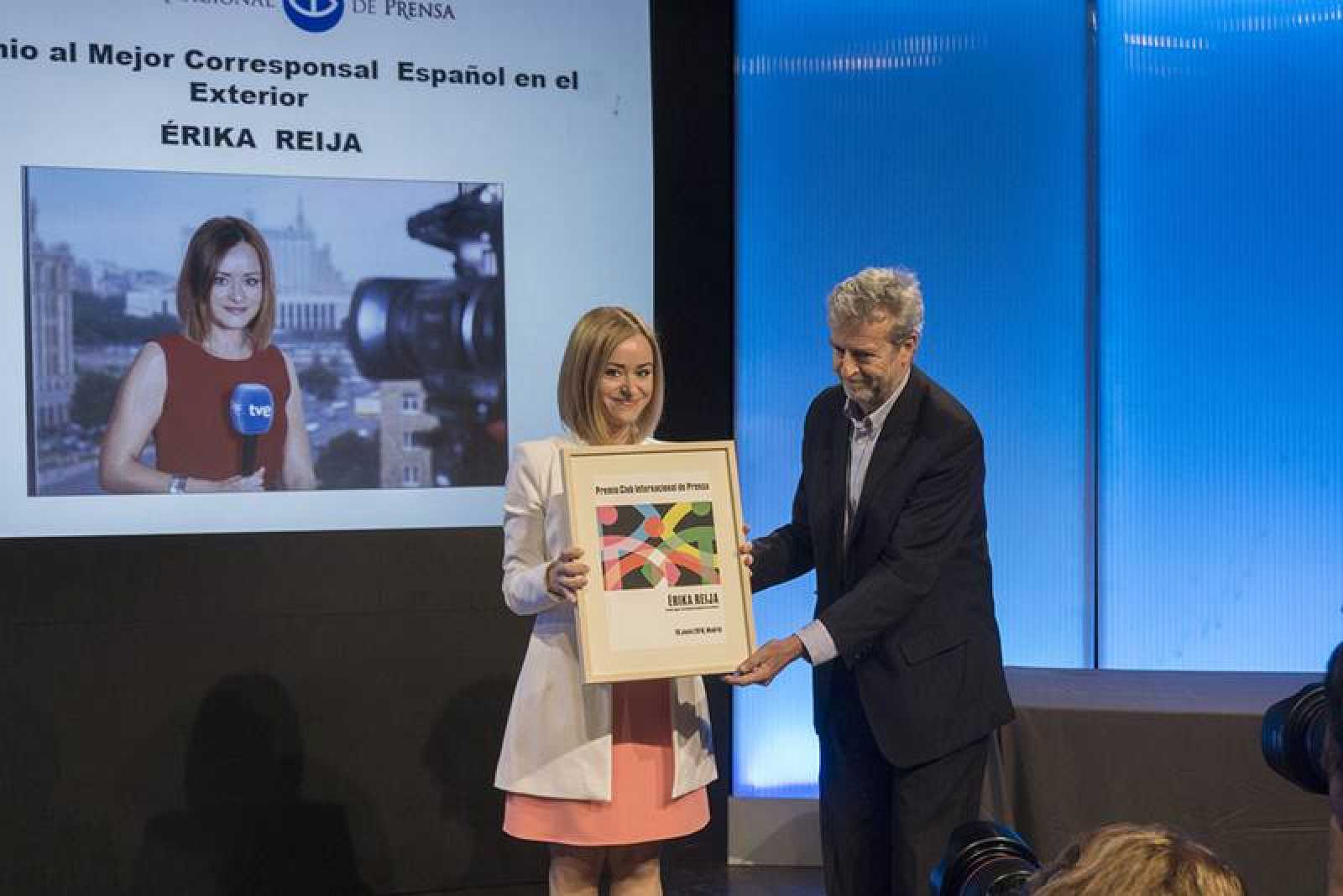 La periodista ha sido reconocida como mejor corresponsal en el extranjero