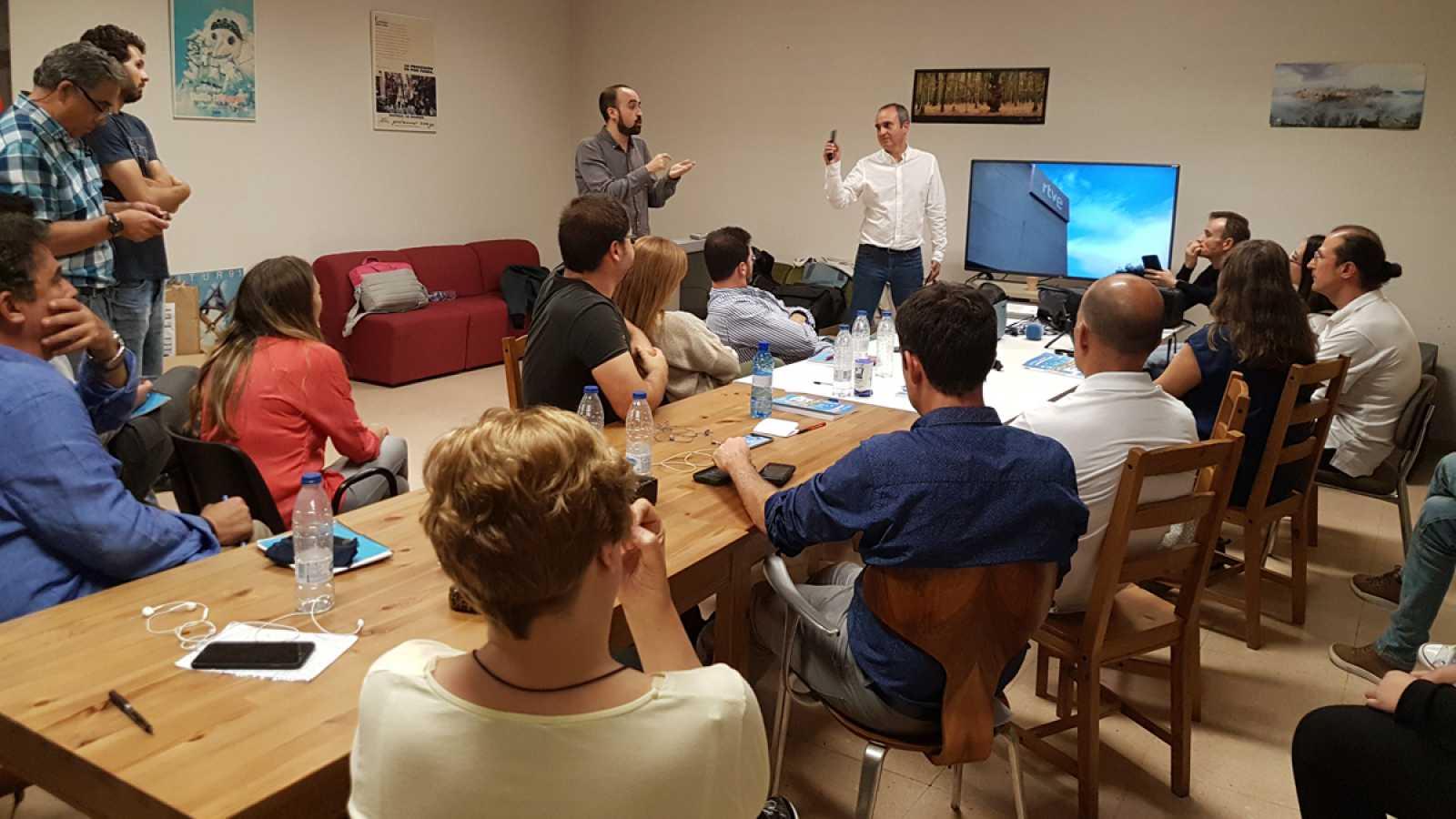 Curso de periodismo móvil en el Centro Territorial de Toledo