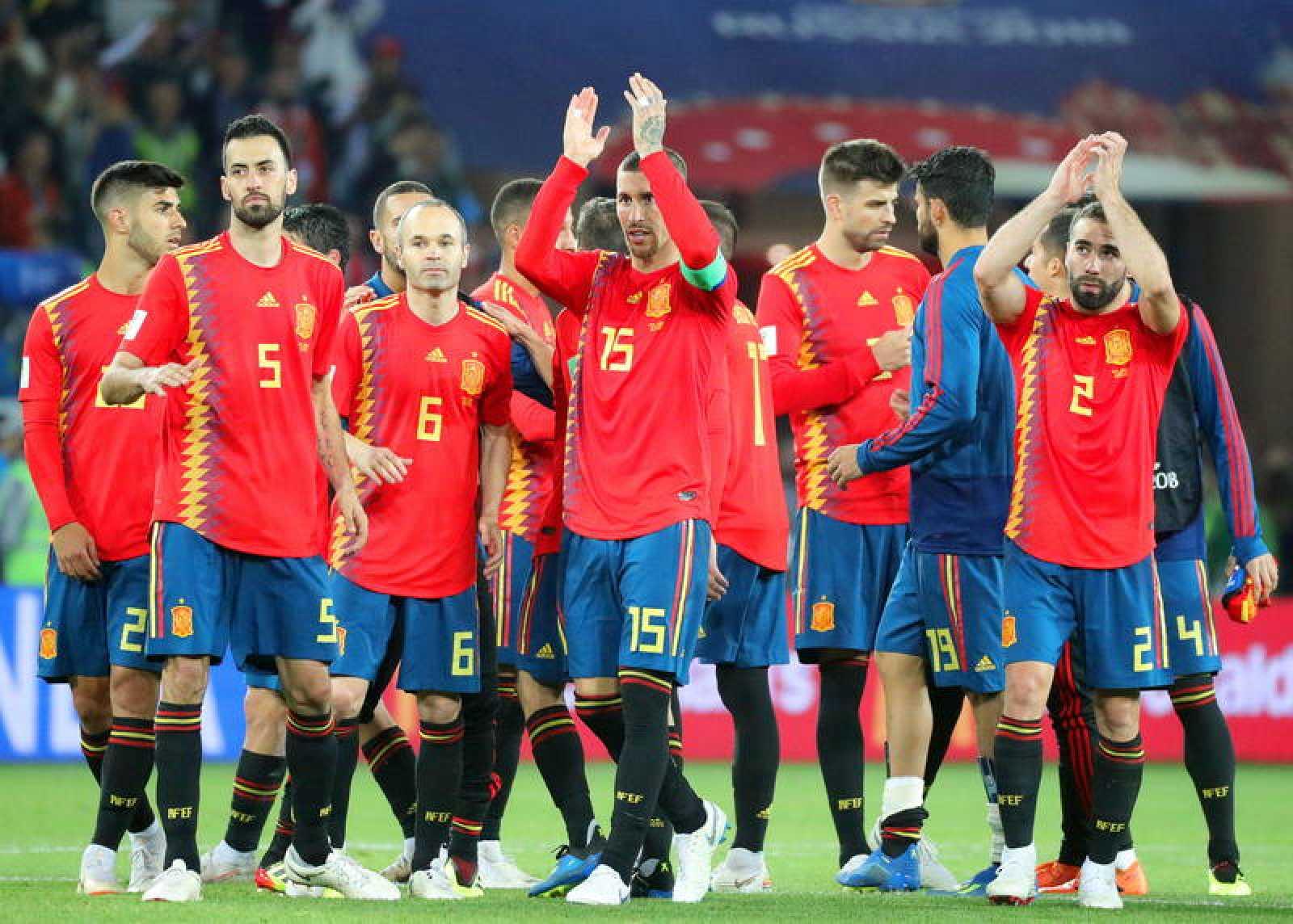 España se ha metido en octavos como primera del grupo B.