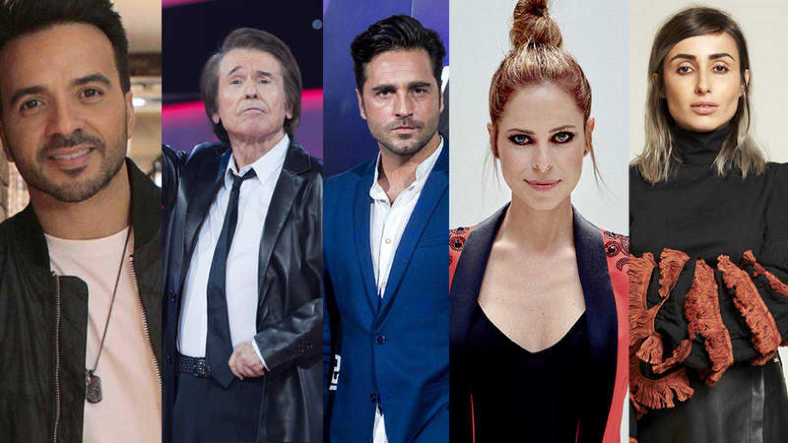 Raphael, David Bustamante y Pastora Soler, entre los invitados del concierto de 'OT 2017' en el Santiago Bernabéu