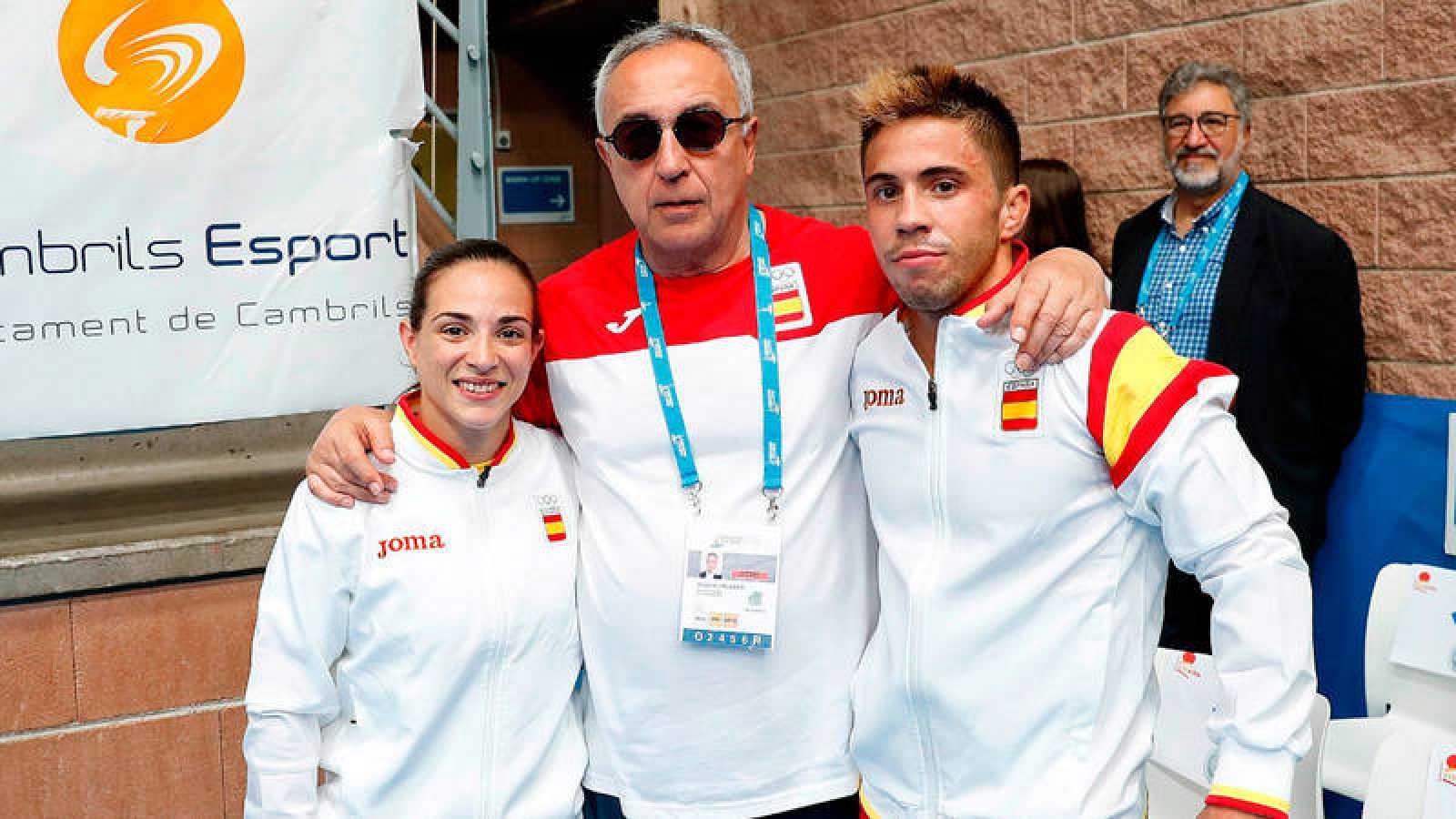 Julia Figueroa y Francisco Garrigós, oros en judo