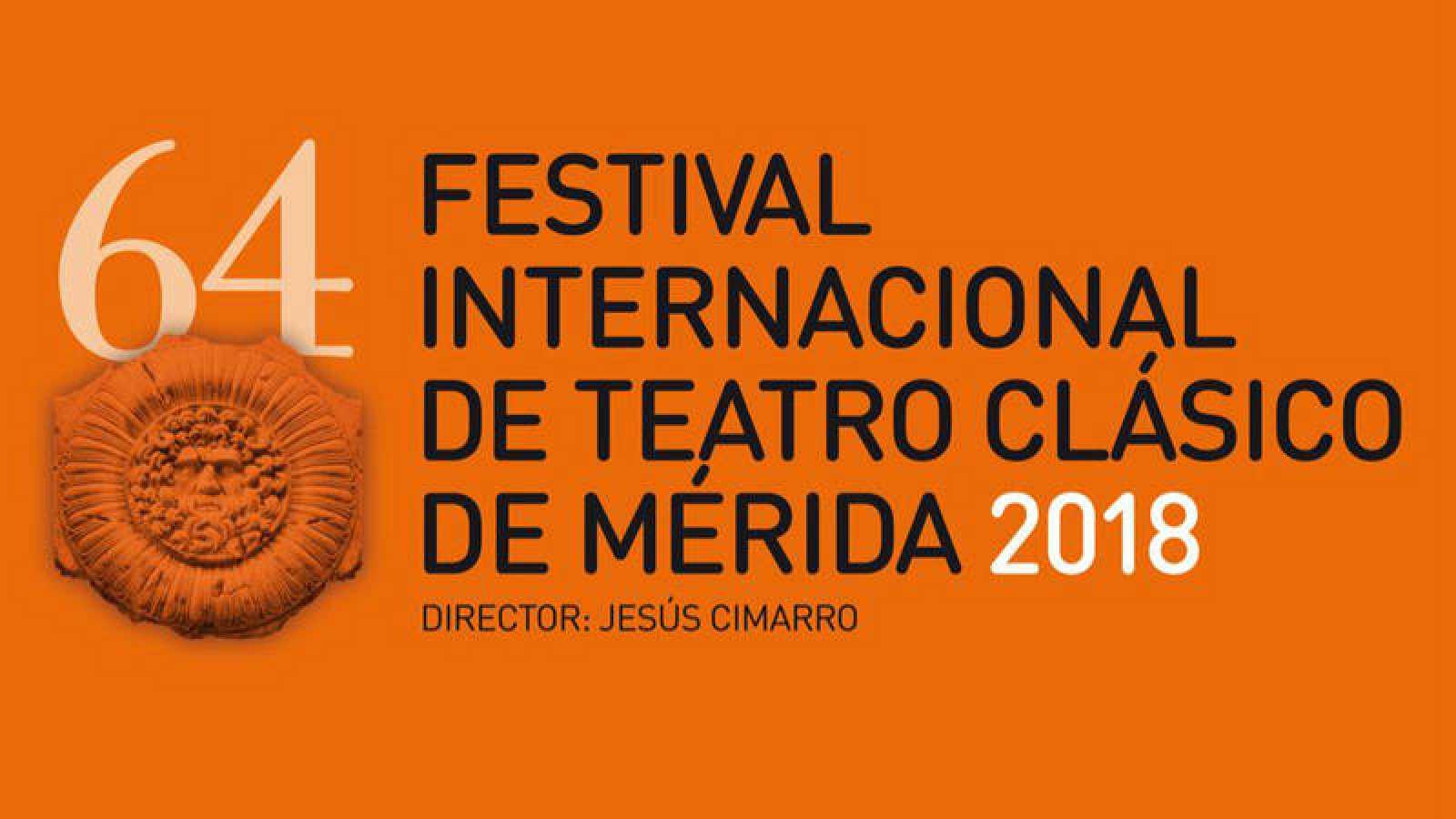 Cartel de la 64ª edición del Festival Internacional de Teatro Clásico de Mérida
